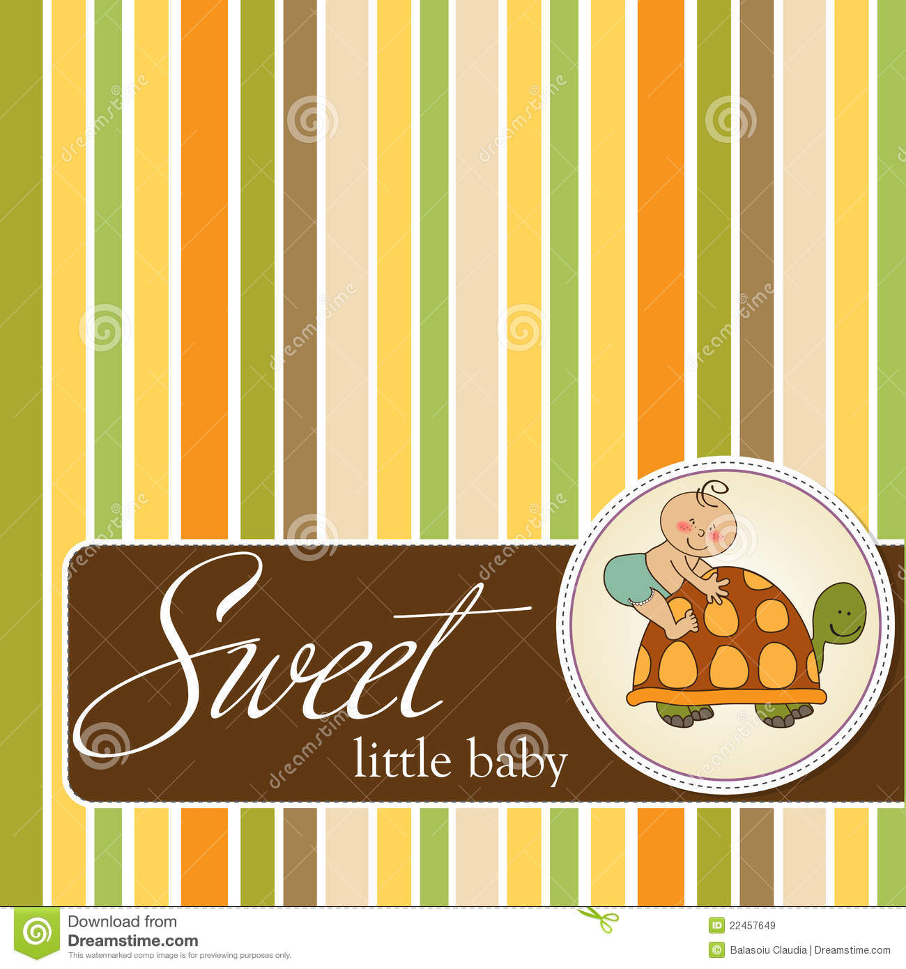 funny baby shower card royalty free stock images image 22457649