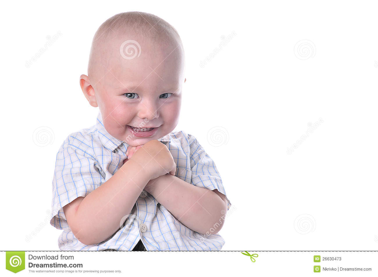 Funny Baby Smiling Stock Photos - Image: 26630473