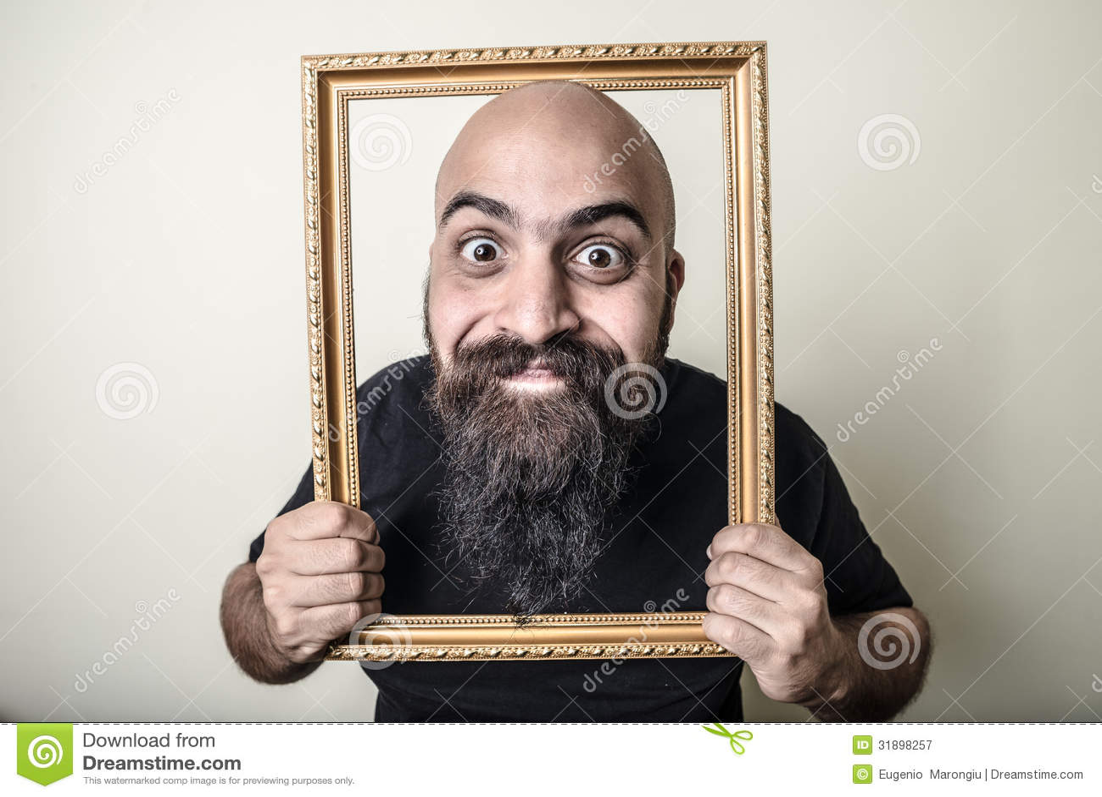 Wall Art Beard Responsibility Frame