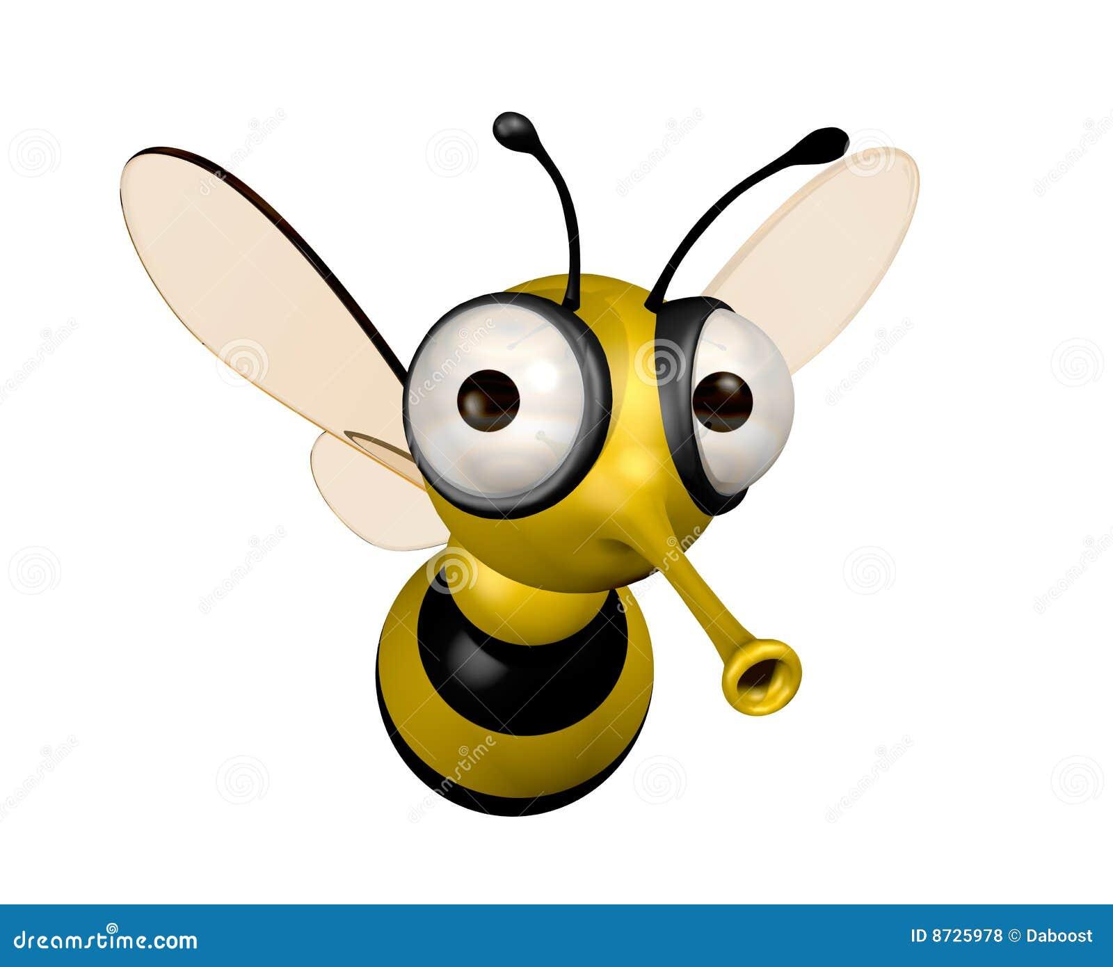 Funny Bee Stock Illustration Illustration Of Render Funny 8725978