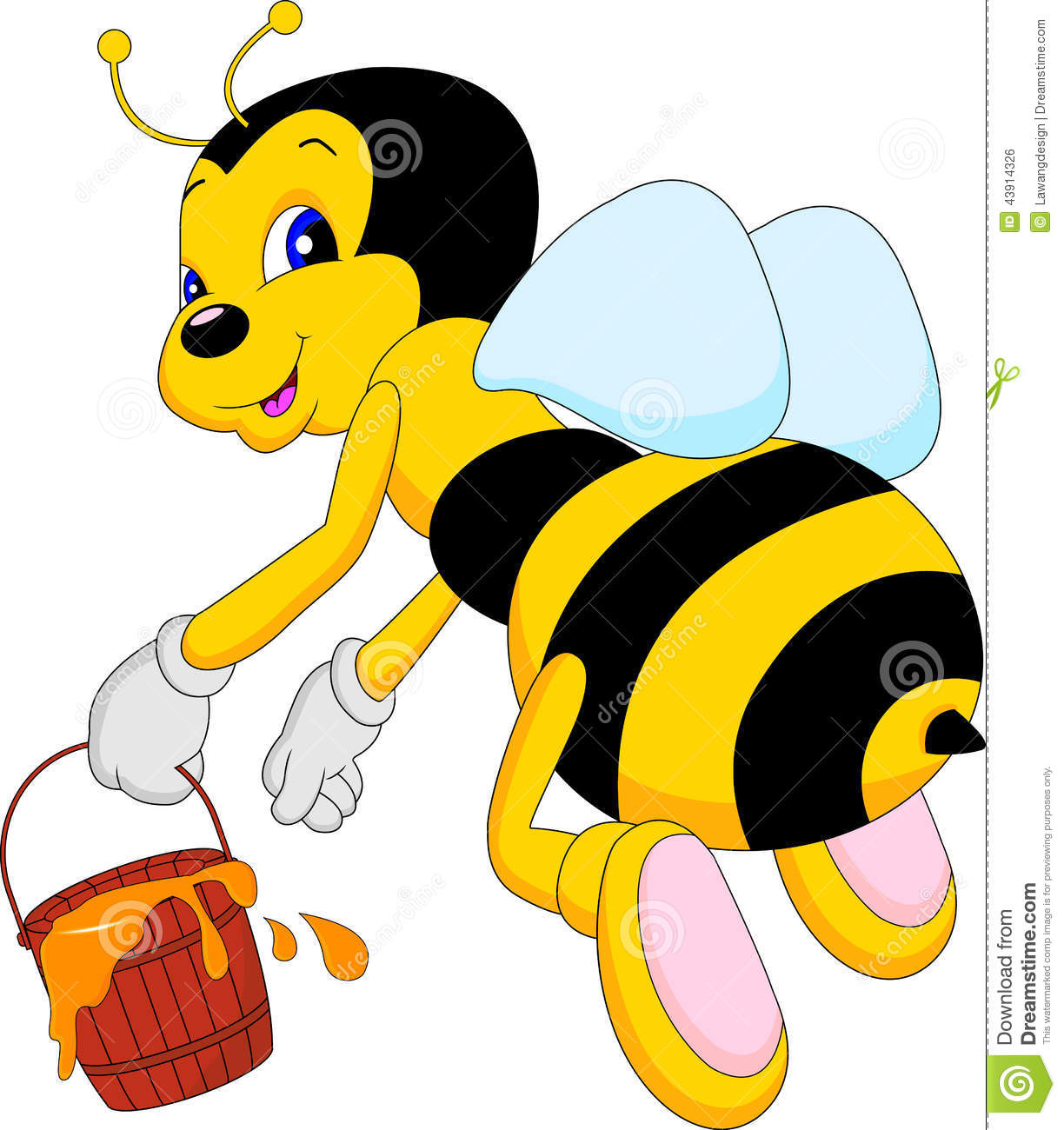 It is a picture of Geeky Funny Bee Picture