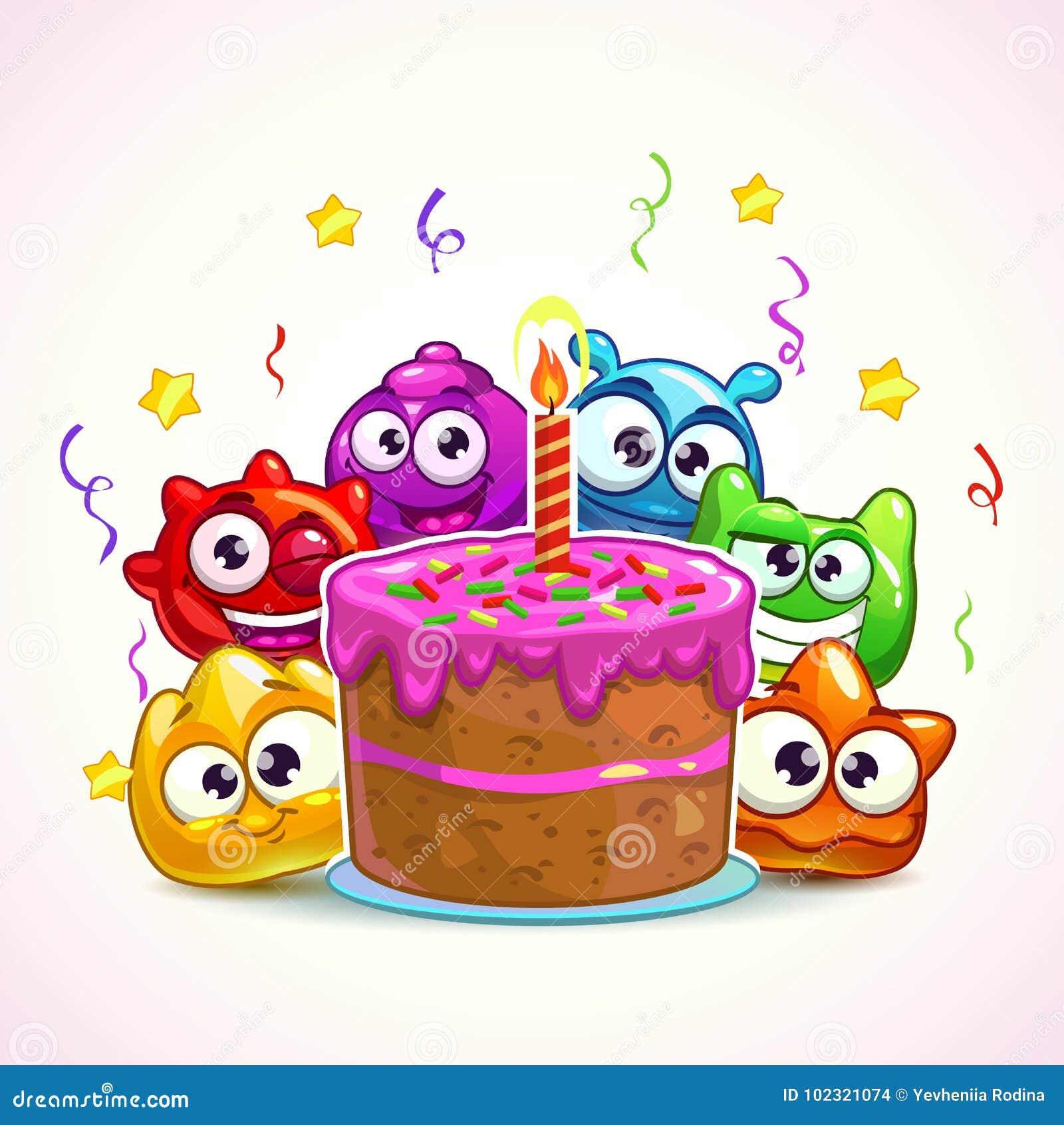 Astonishing Funny Birthday Illustration Stock Vector Illustration Of Friend Funny Birthday Cards Online Barepcheapnameinfo