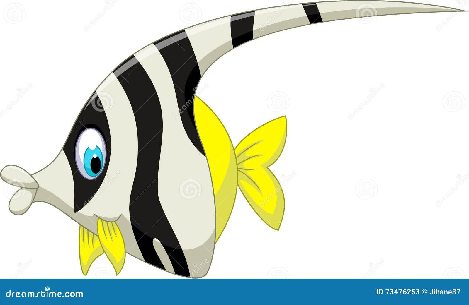 Uncategorized Cartoon Angel Fish funny black and white angel fish cartoon stock illustration royalty free download cartoon