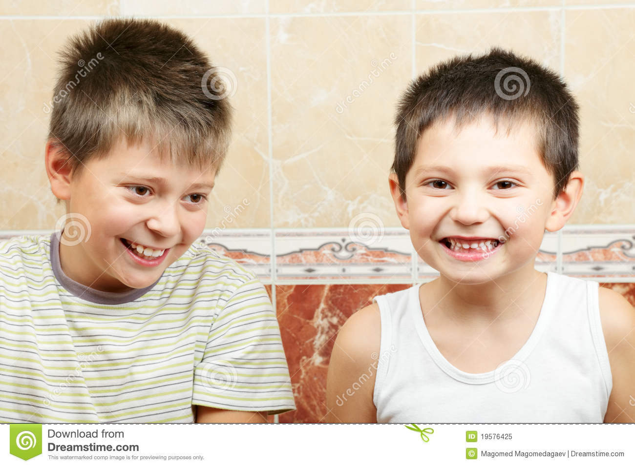 Funny Boys Royalty Free Stock Photo - Image: 19576425