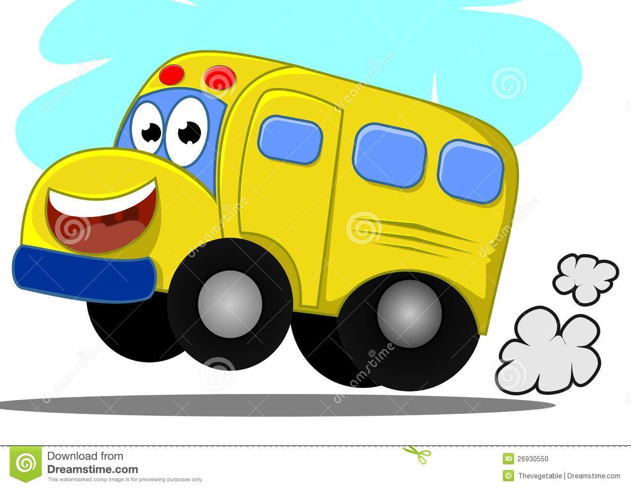 Stock Photo Funny Bus Image26930550 on happy cartoon mouth