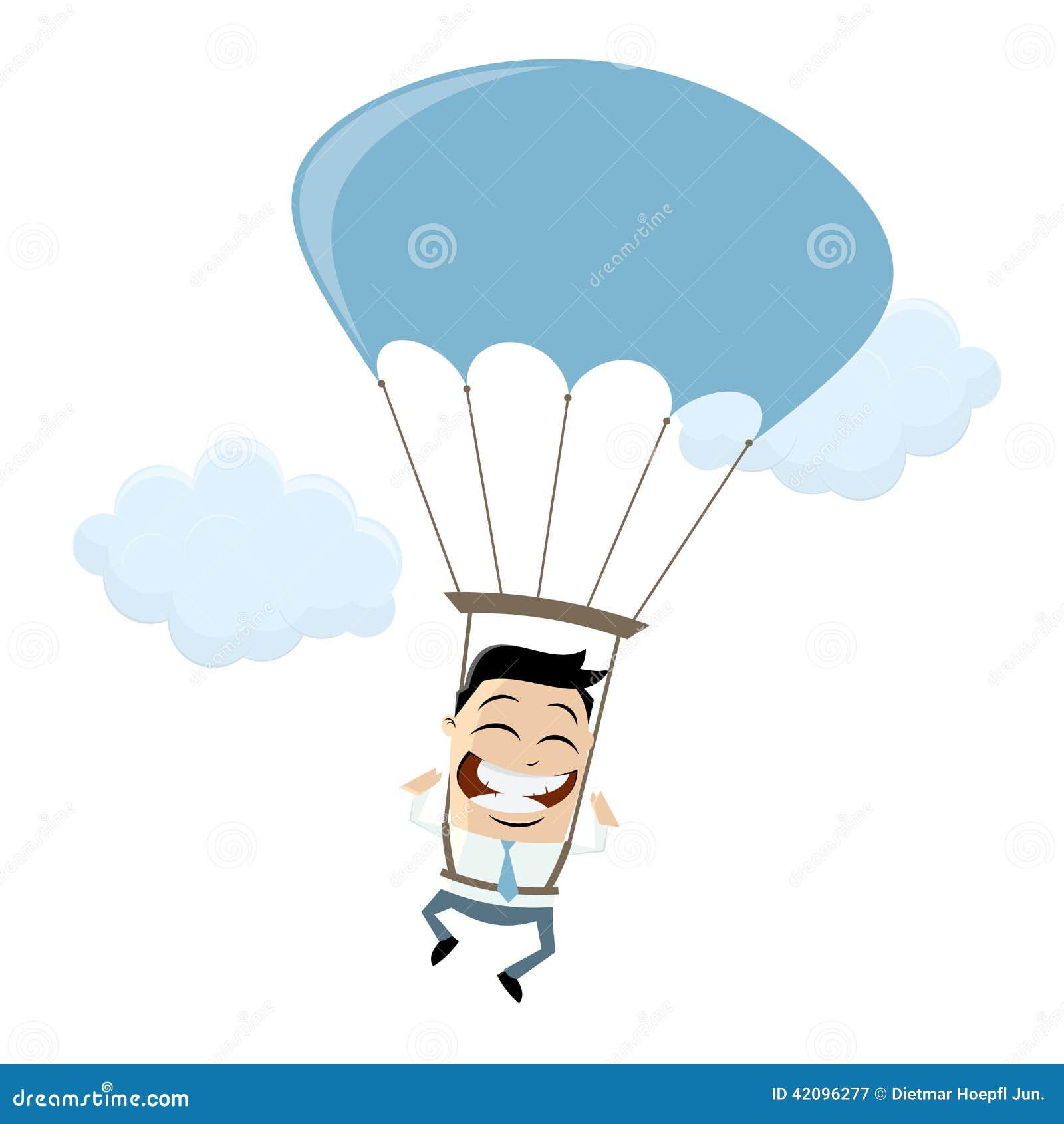 cartoon clipart parachute - photo #41