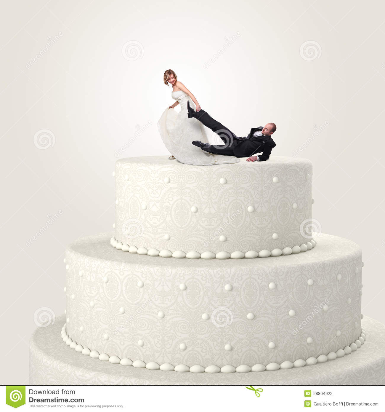 Funny cake topper stock photo. Image of stand, brown - 28804922