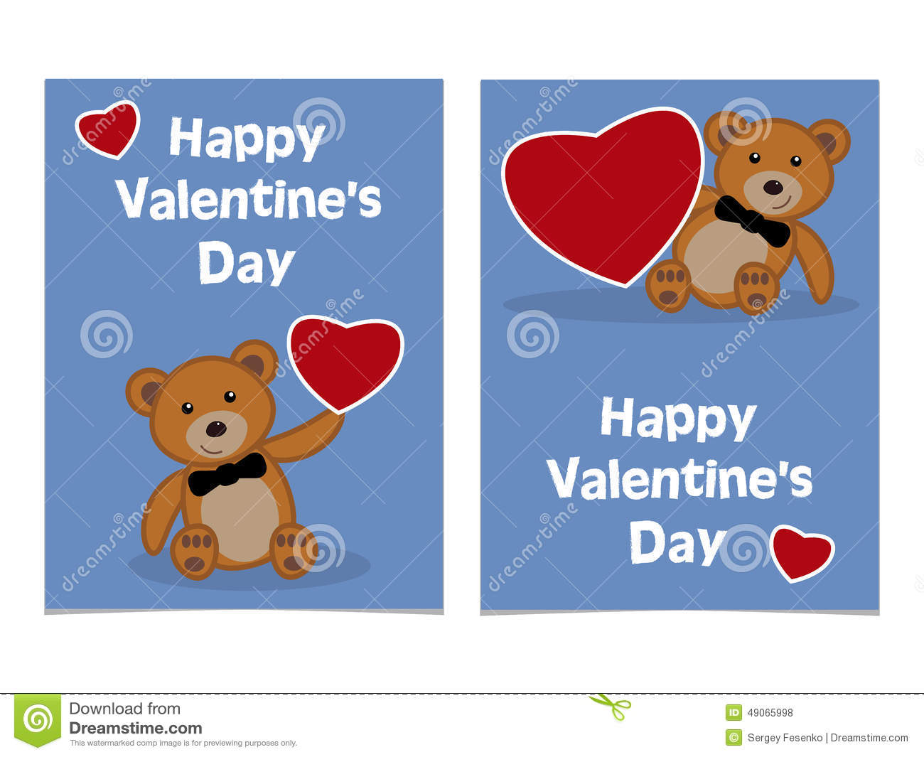 Funny Cartoon Bear Cub With Red Heart Happy Valentines Day Card – Funny Happy Valentines Day Cards