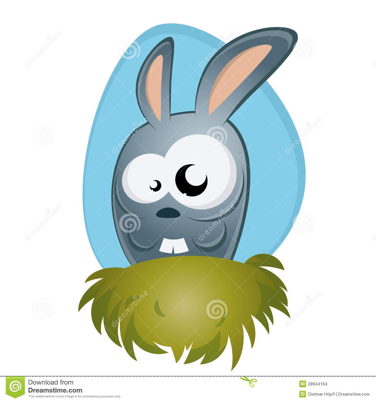Funny Cartoon Bunny Stock Images - Image: 28944164