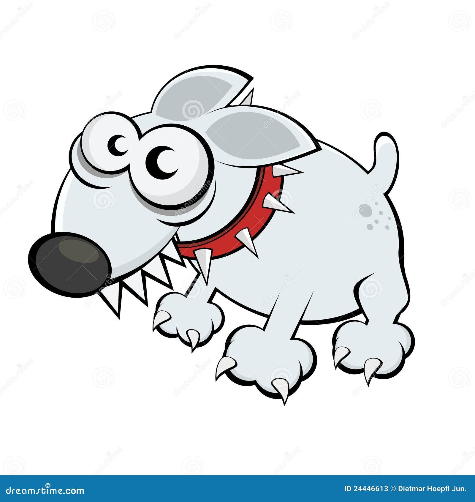 Funny cartoon dog stock vector. Illustration of clip ...