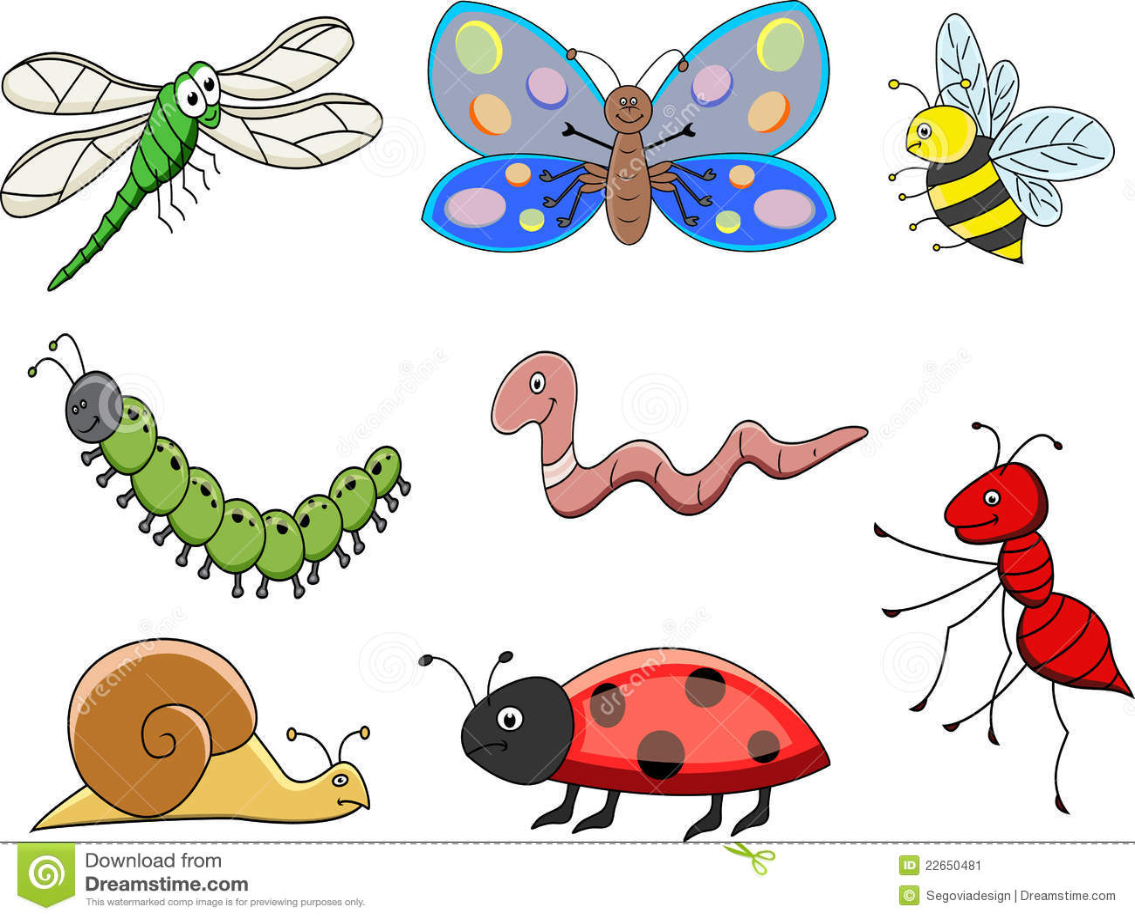 funny cartoon insect stock image image 22650481 Praying Mantis Drawing praying mantis clipart
