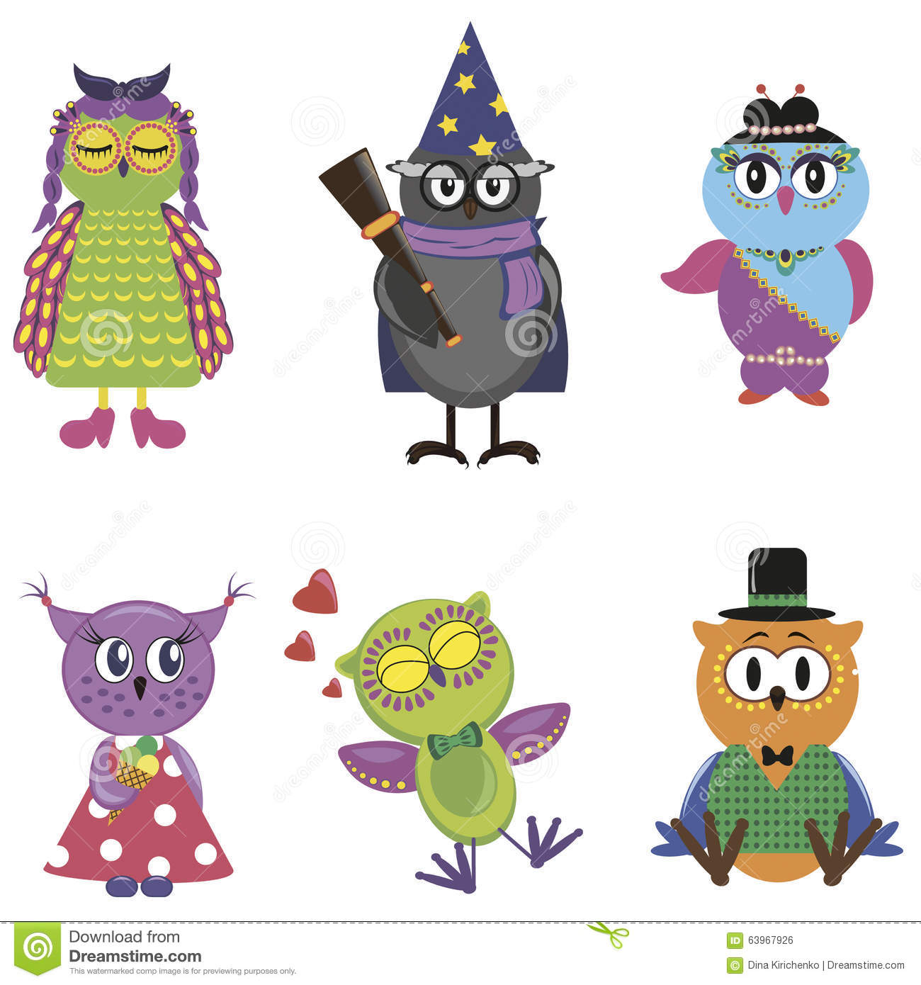 funny cartoon owls - photo #36