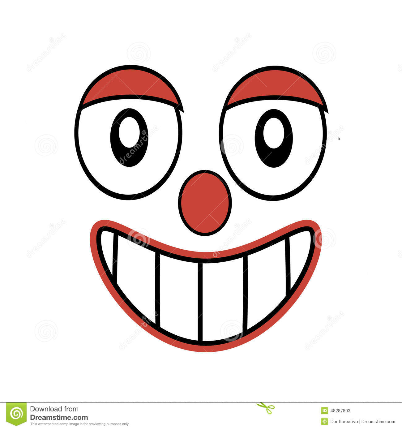 It is a picture of Nifty Funny Laughing Drawing