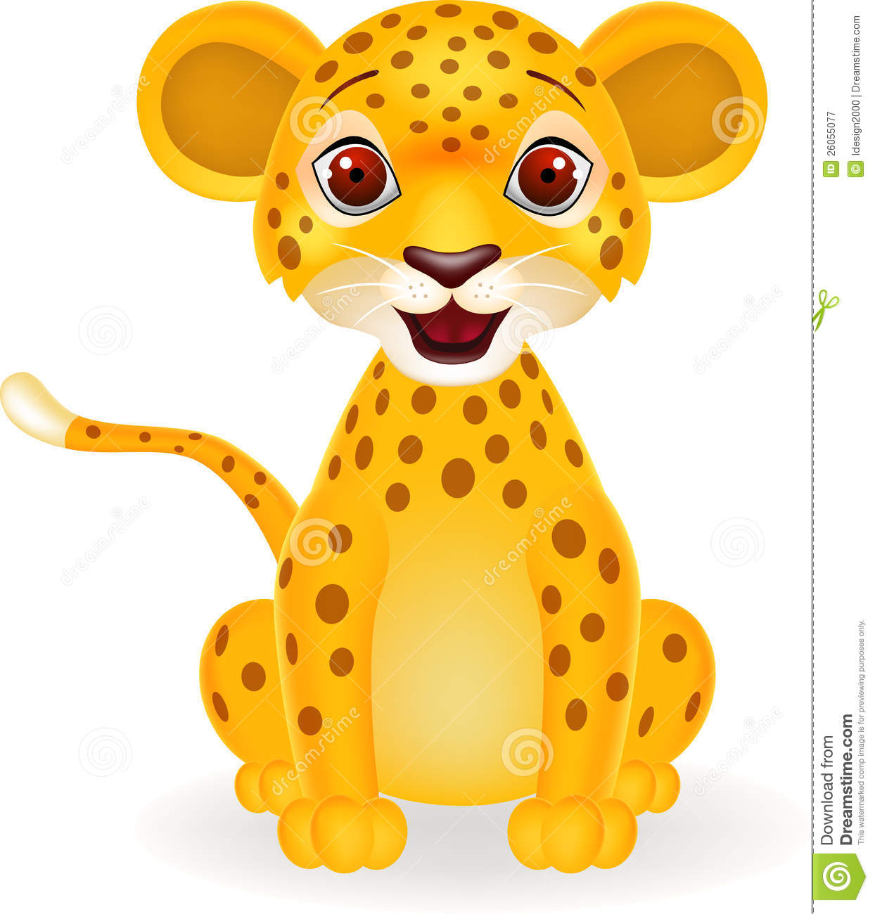 Displaying 18> Images For - Baby Cheetah Clipart...