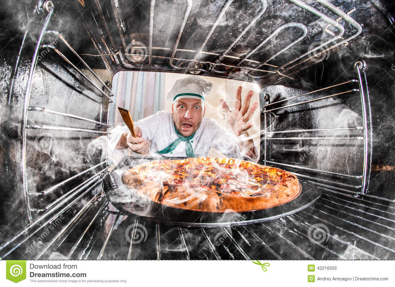 funny chef perplexed and angry loser is destiny stock
