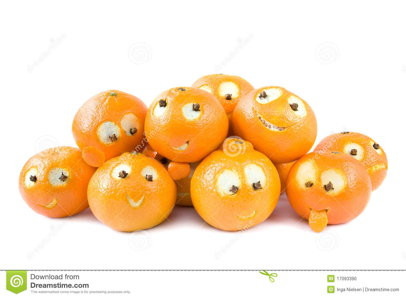 Funny clementines