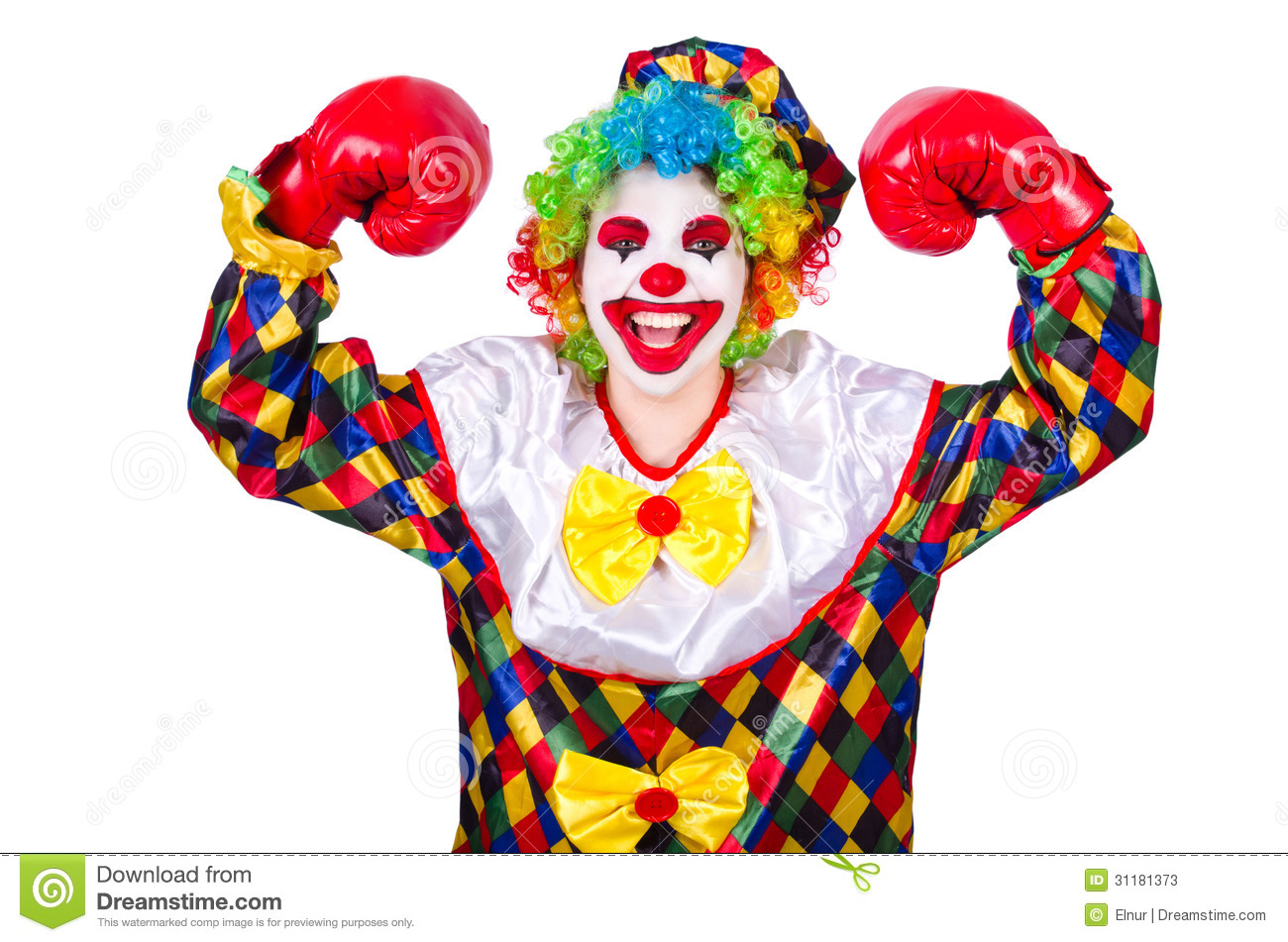 Funny Clown Stock Photos - Image: 31181373