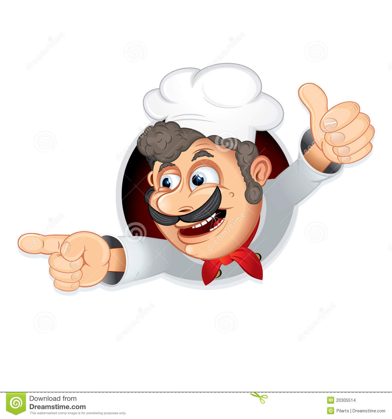 Funny Cook Stock Vector. Illustration Of Comical, Expert