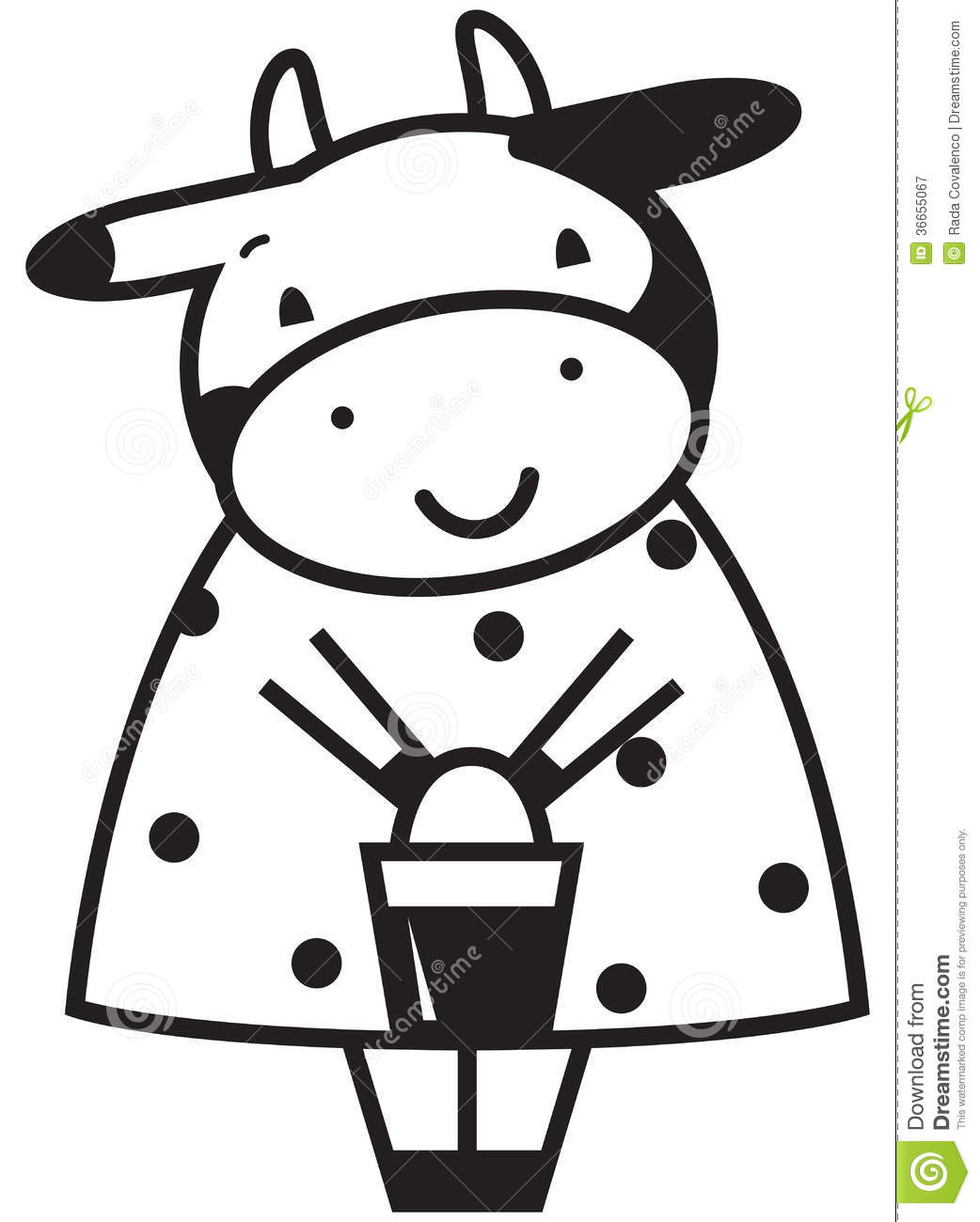 funny cow royalty free stock photography image 36655067