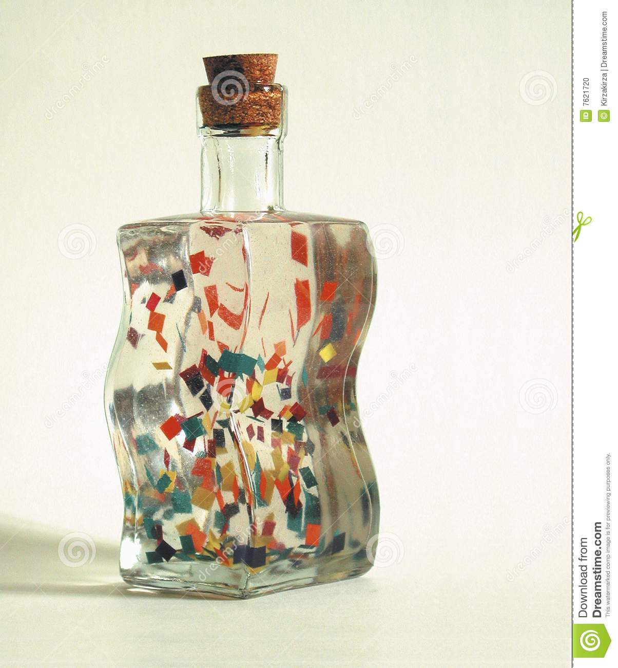 Download Funny curved glass bottle stock photo. Image of biological - 7621720