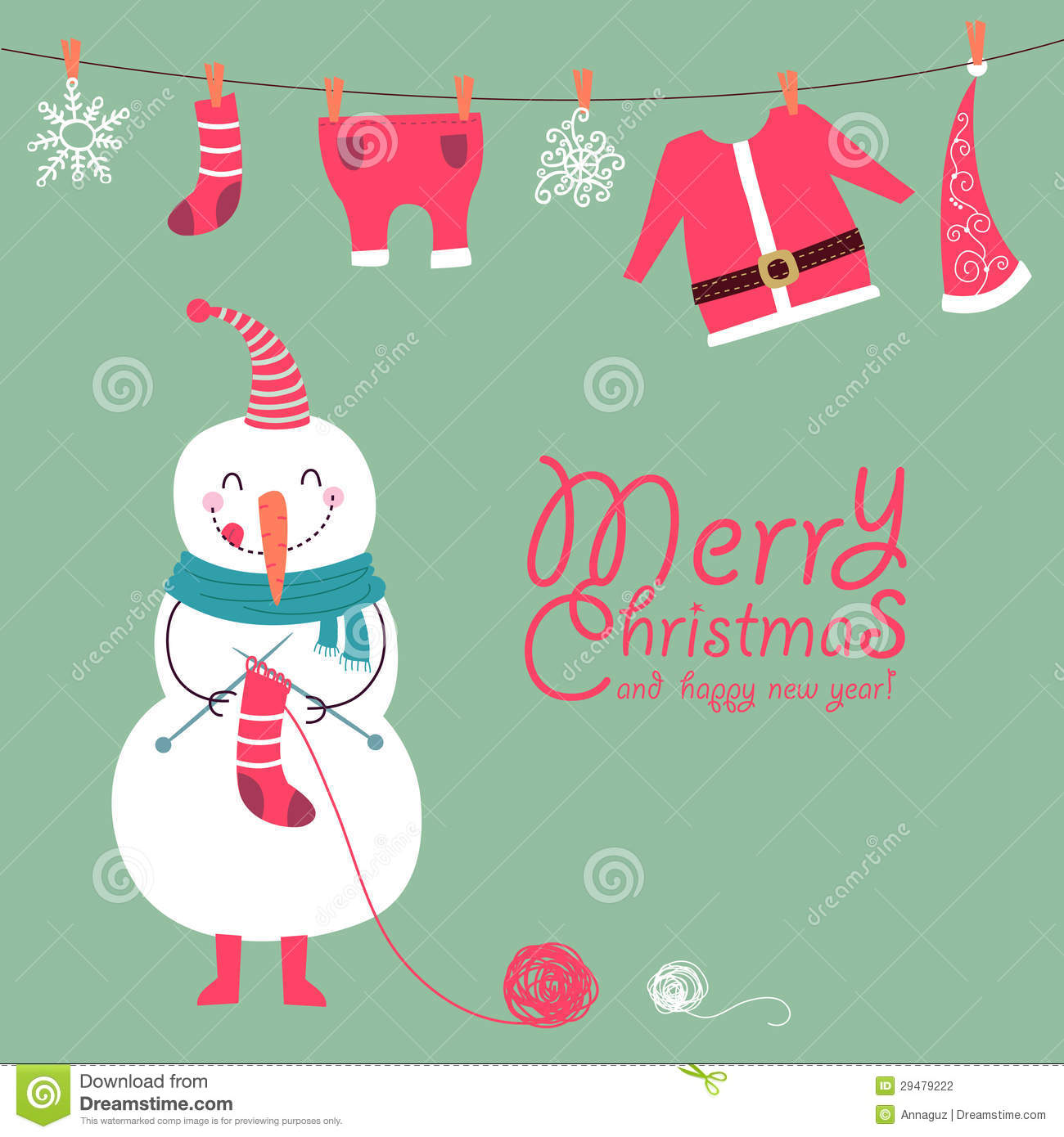 Funny and cute christmas card stock vector illustration of funny and cute christmas card clothing banner kristyandbryce Images