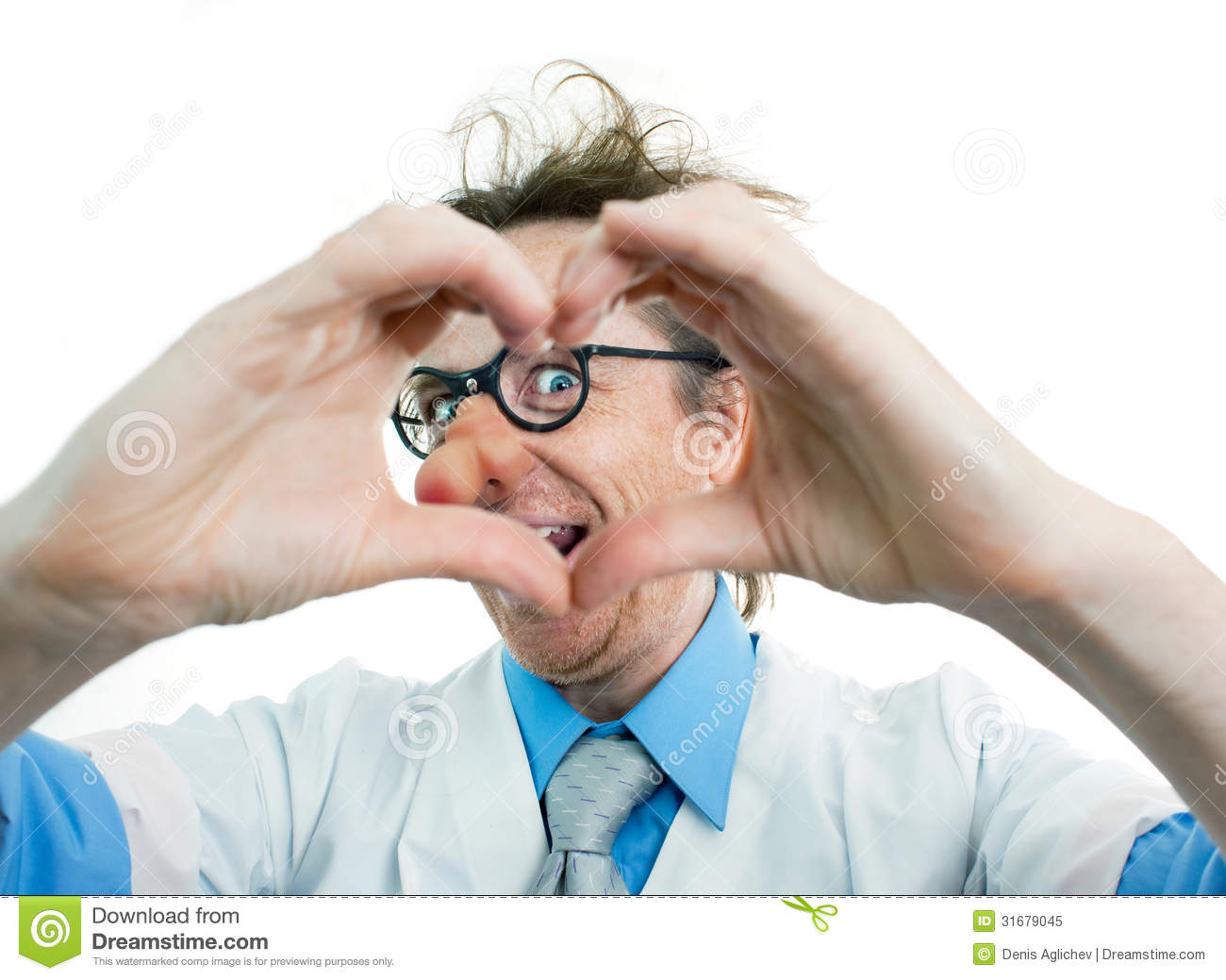 Royalty Free Stock Photo Funny Doctor