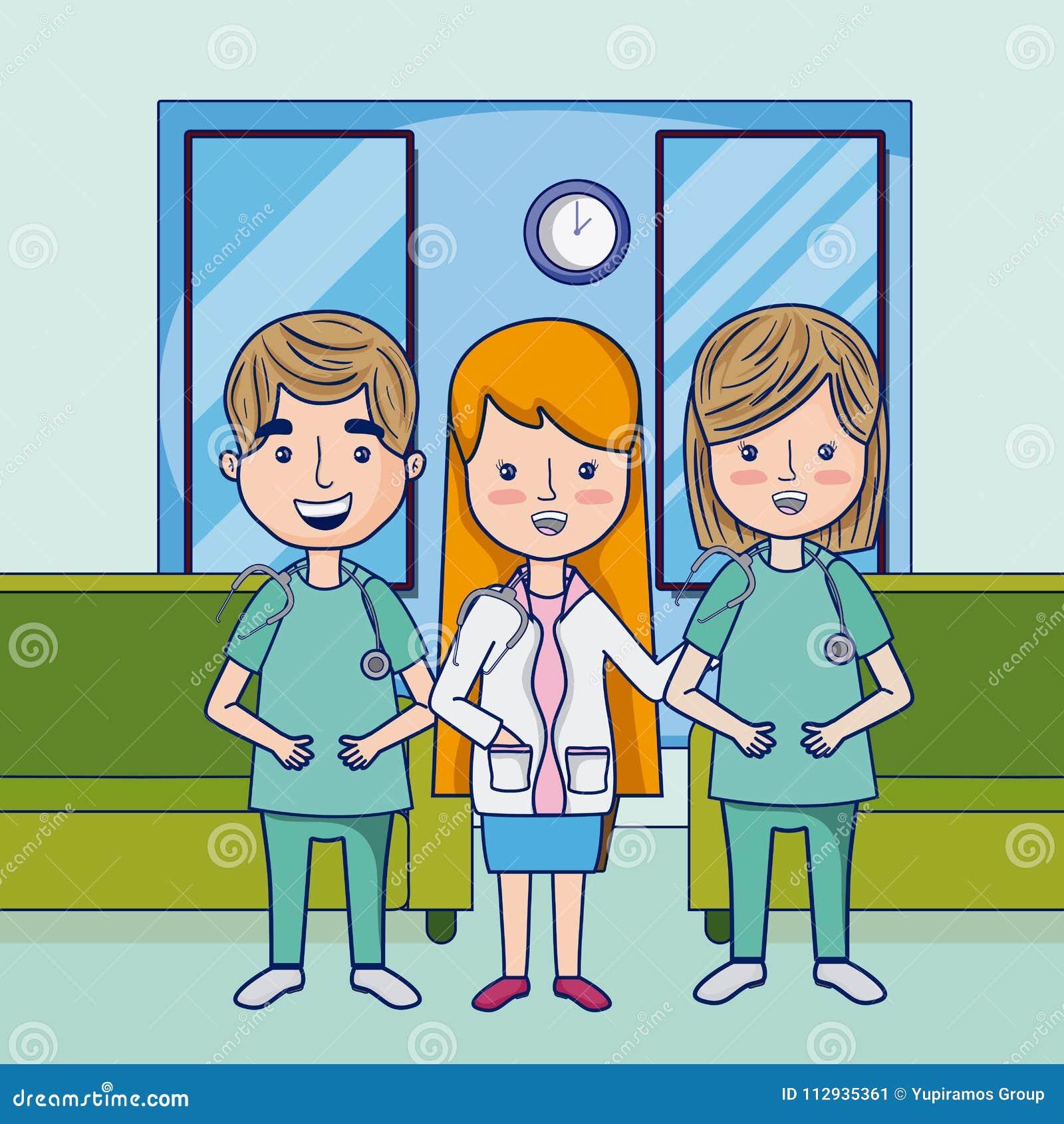 Funny Cartoon Hospital Pics funny doctors cartoons stock vector. illustration of graphic