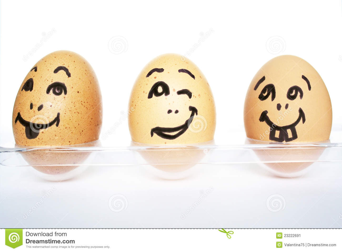Funny eggs stock image image 23222691