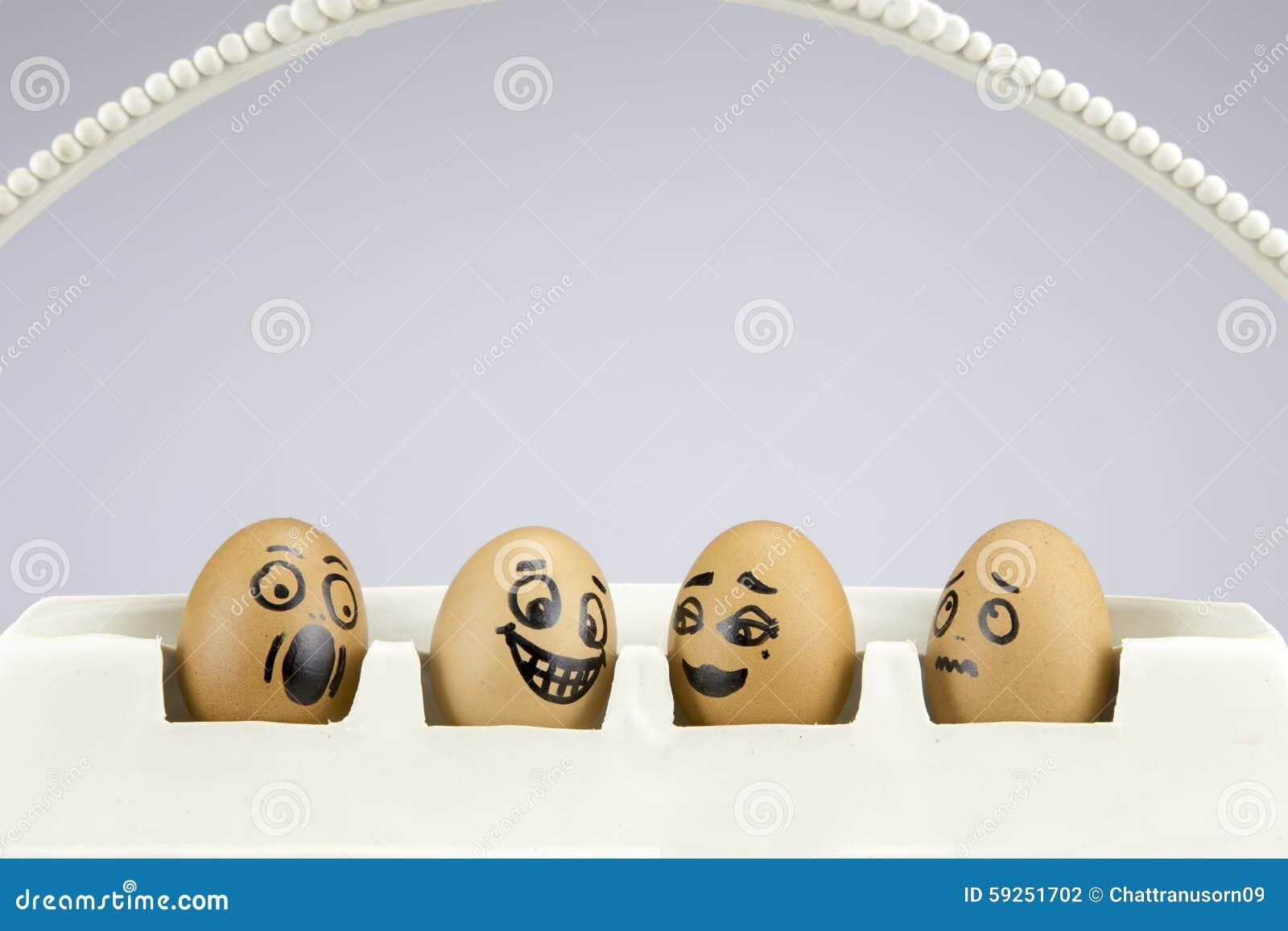 funny eggs emotion mood - photo #26
