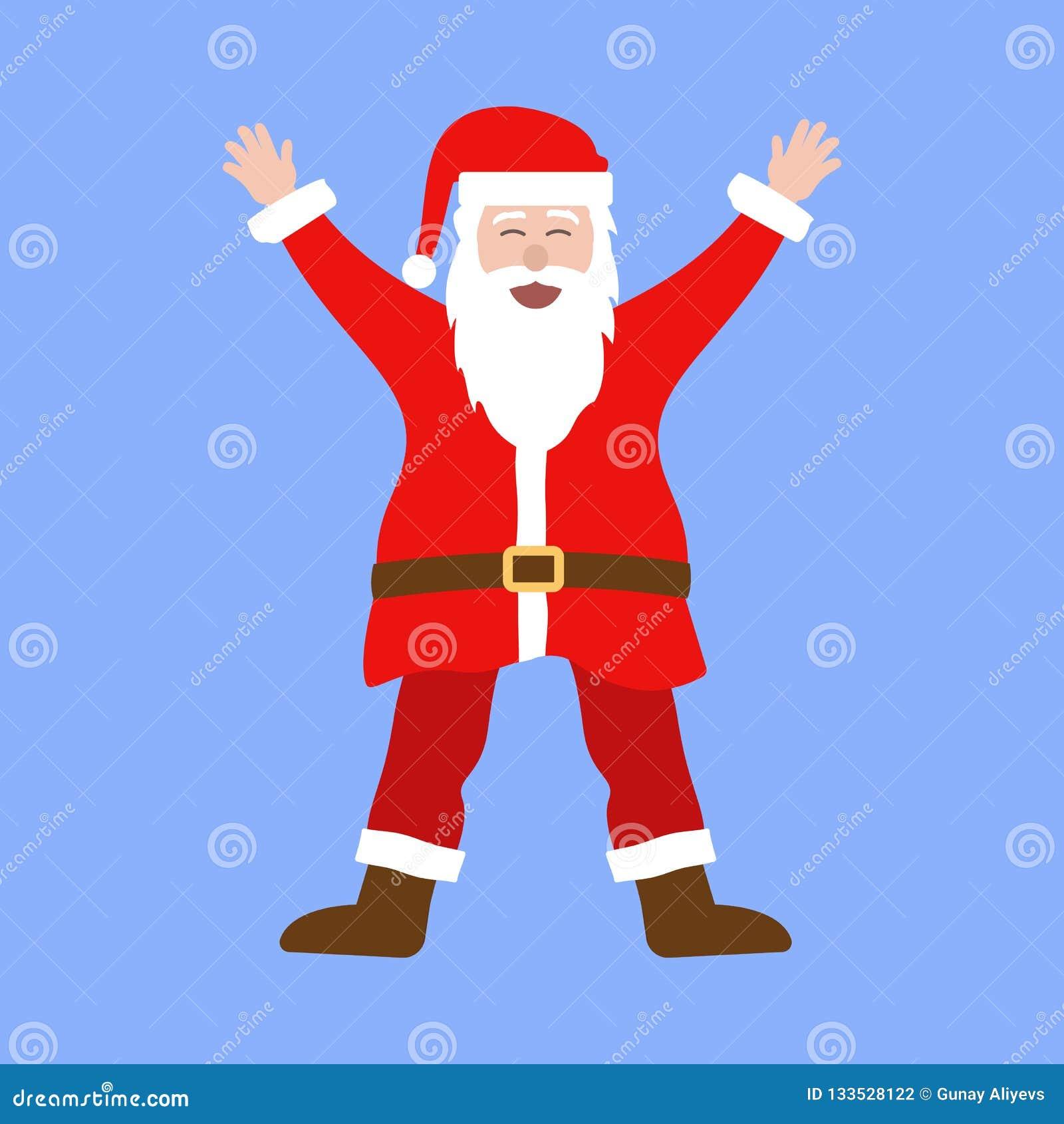 funny fat santa pictures