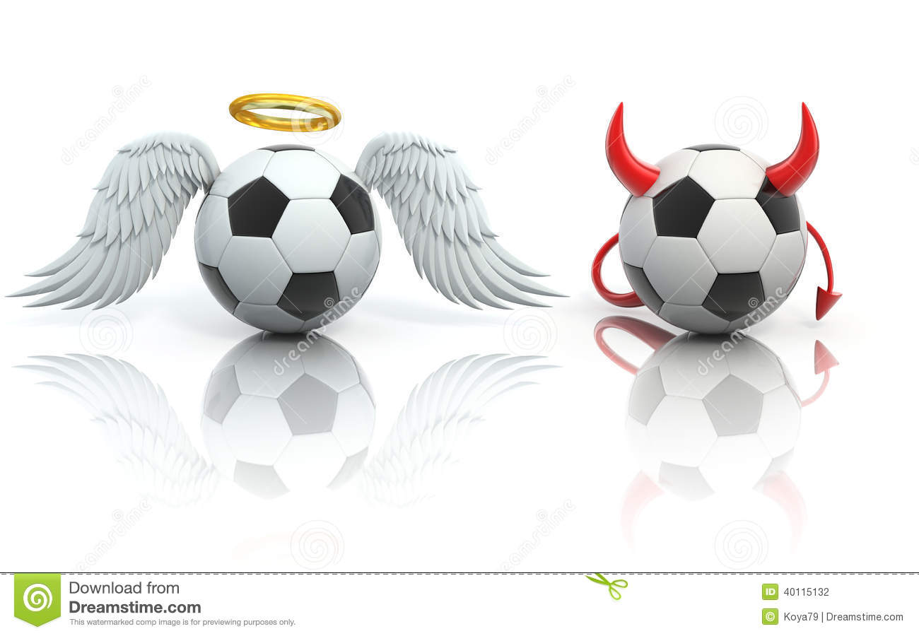 funny football 3d concept angel and devil soccer balls clip art of soccer ball free clip art of soccer ball basketball football