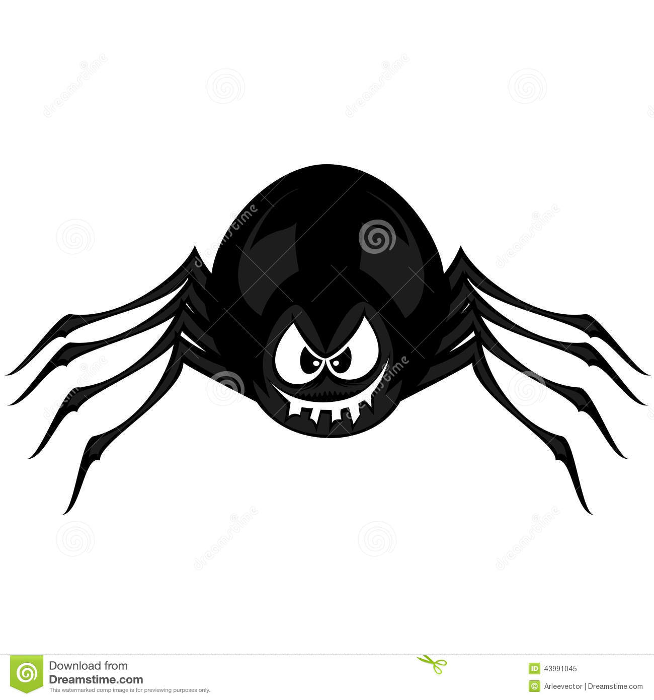 funny freaky spider stock vector illustration of hairy Creepy Eyes Clip Art Evil Eyes Clip Art
