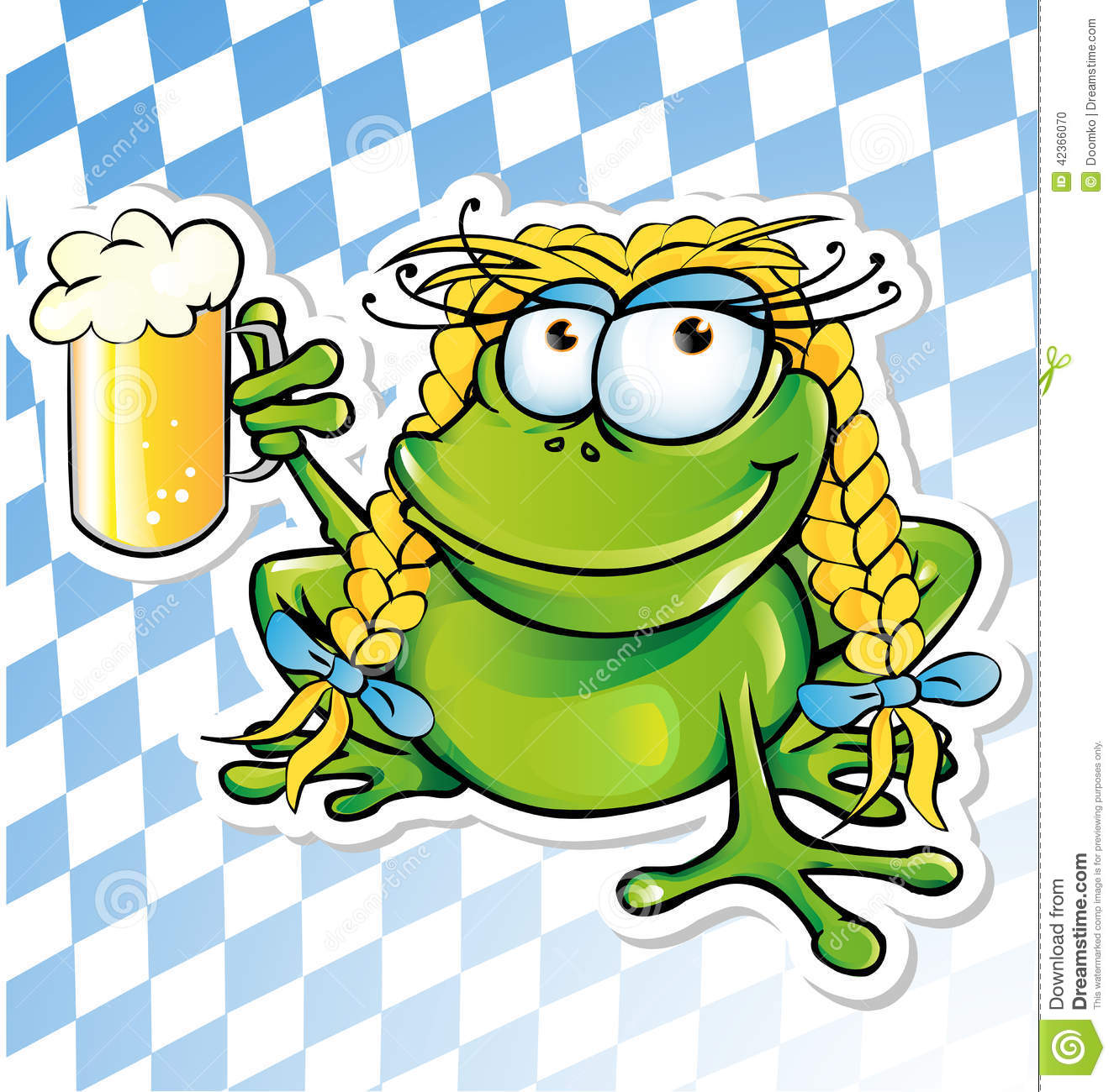 Stock Illustration Funny Frog Cartoon Beer Glass Image42366070 on 3d animated objects