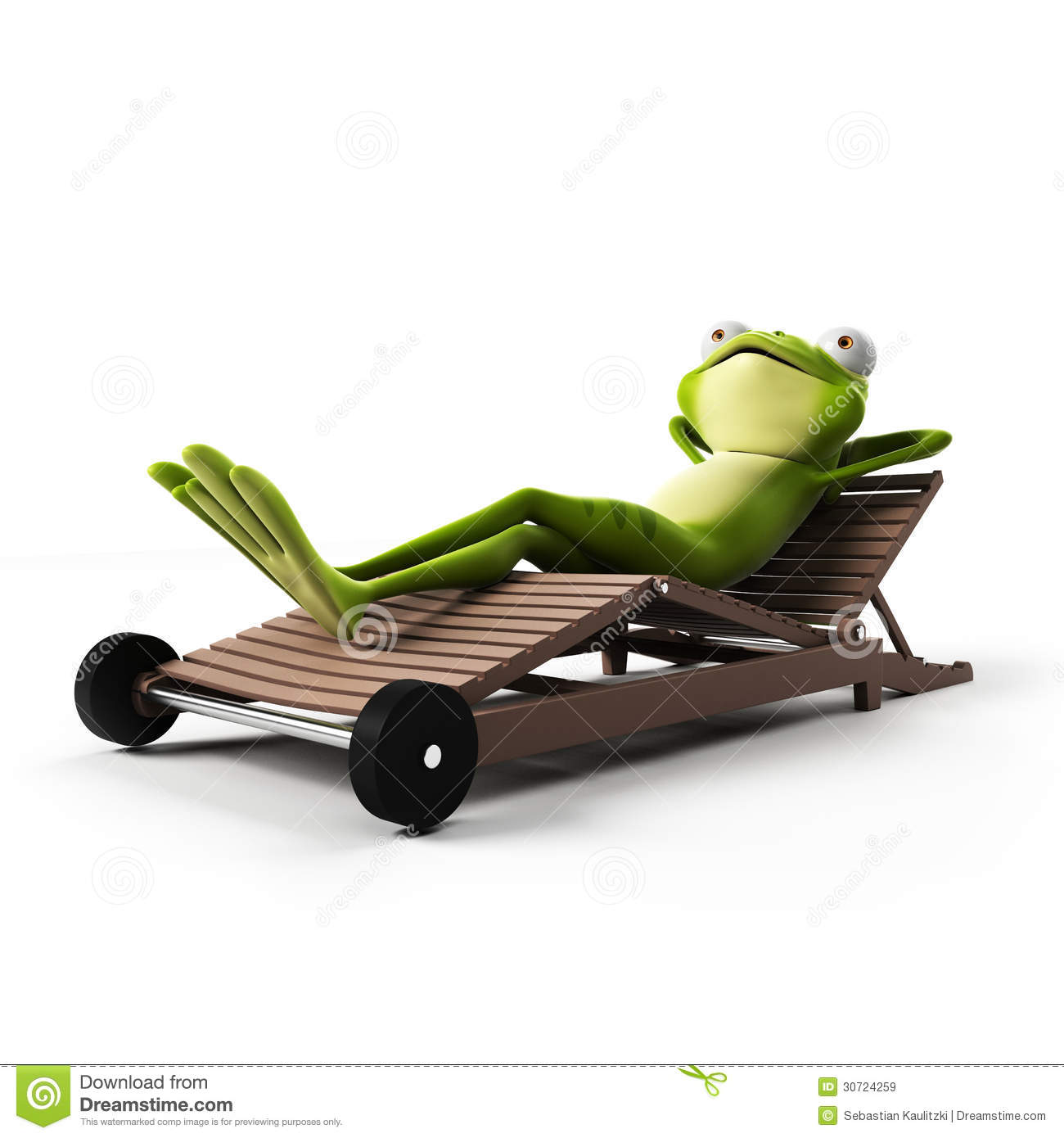 Funny Frog Character Stock Illustration Illustration Of Sticky