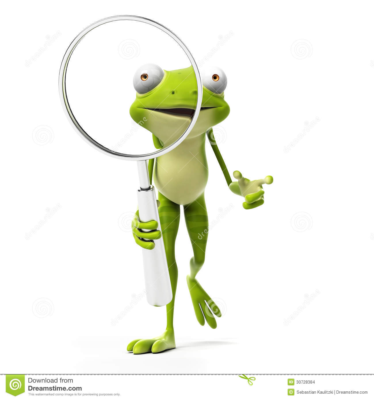 Funny Frog - Character Stock Images - Image: 30728384