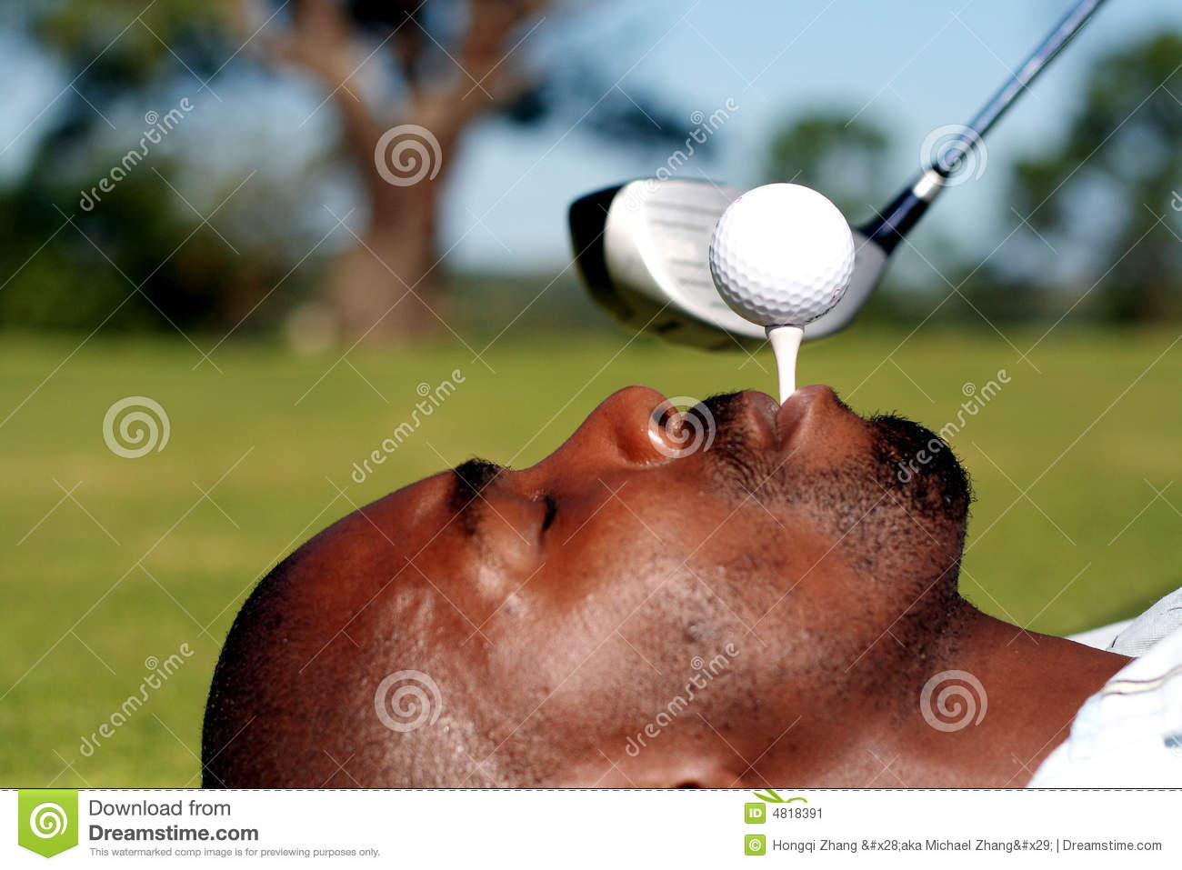 Funny Golf Stock Image - Image: 4818391 Golf Ball On Tee Clipart