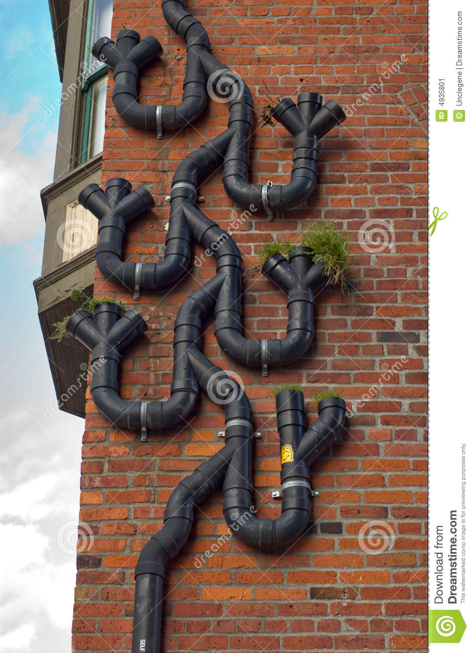 Funny Gutter Stock Image Image Of Curve Figured Plant