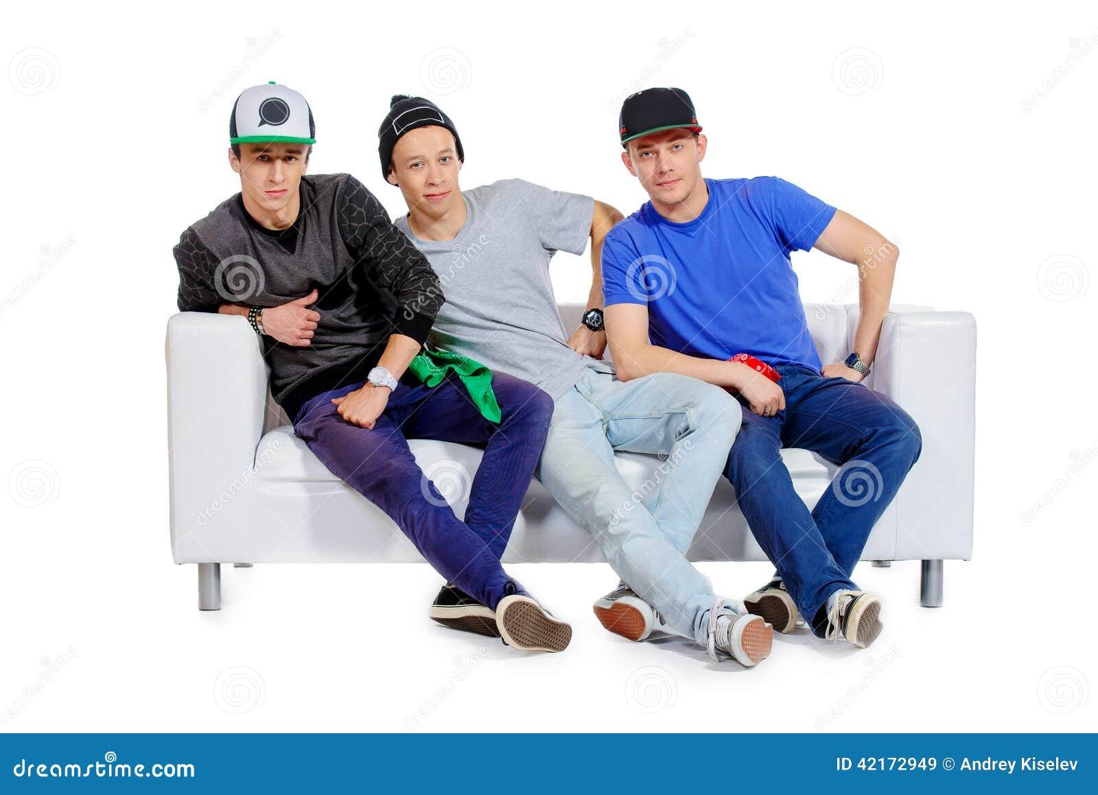 Three gays fun time