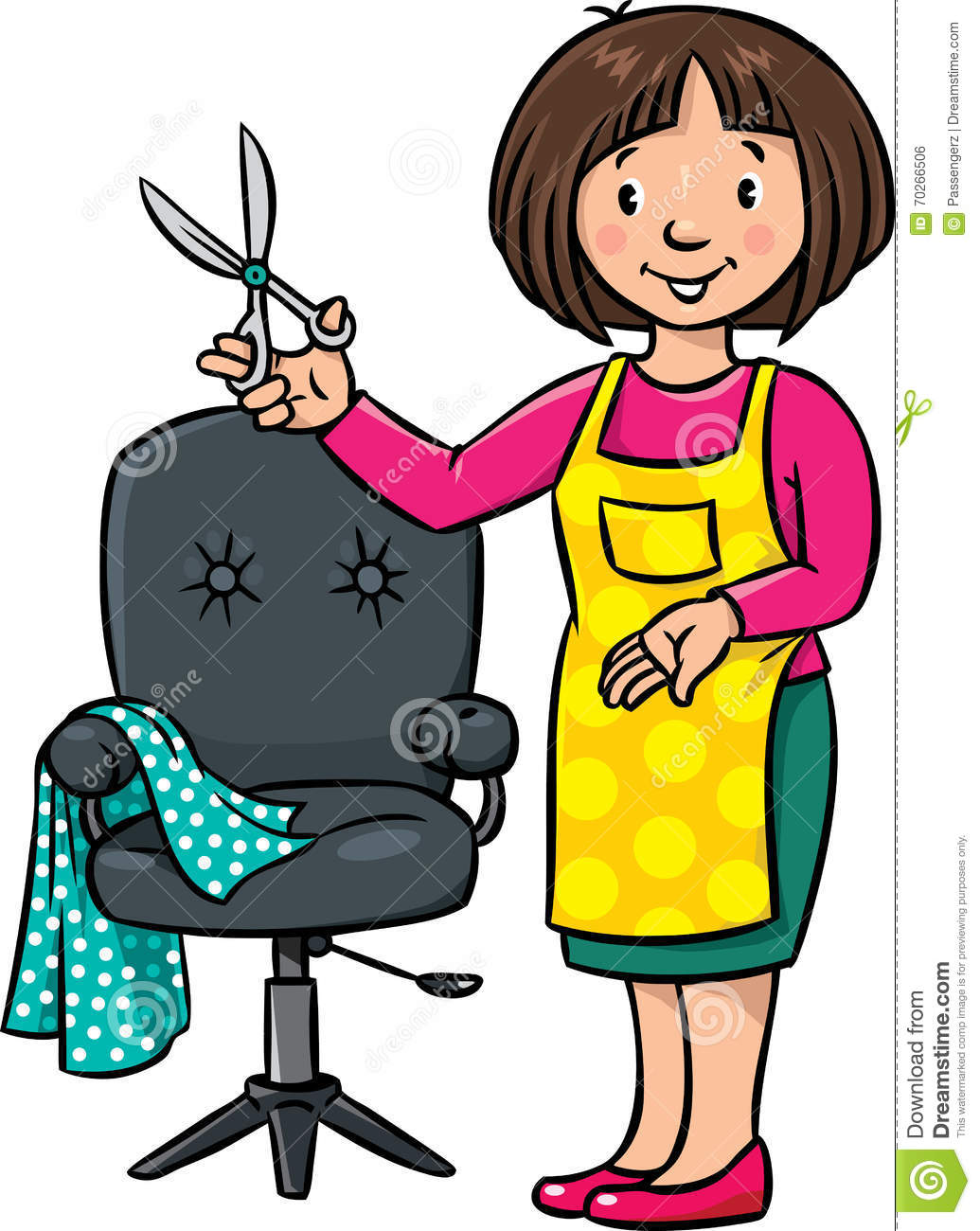 funny hairdresser or barber profession abc series stock scissors clip art images scissors clipart dog