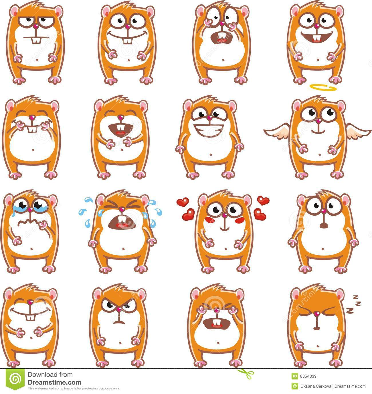 Funny hamsters (2)