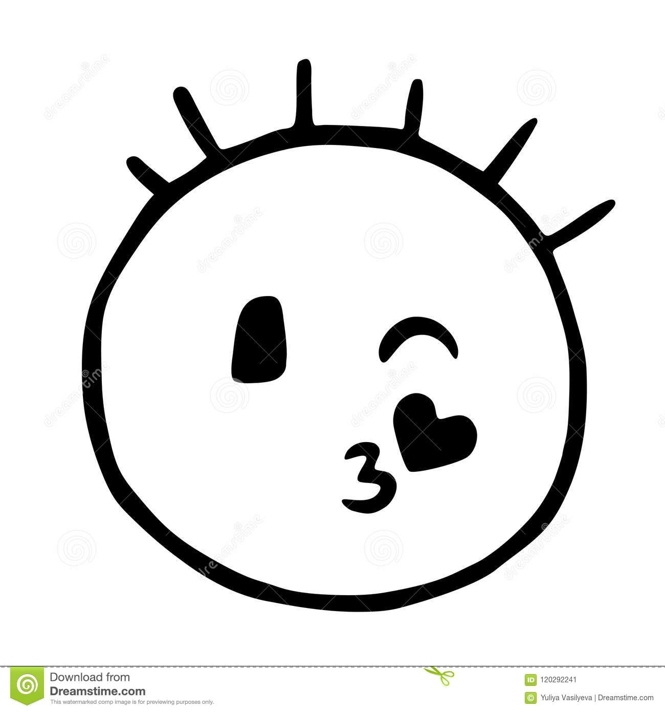 I got a clue how you feel for me.. 1-4-3 and a smiley with a