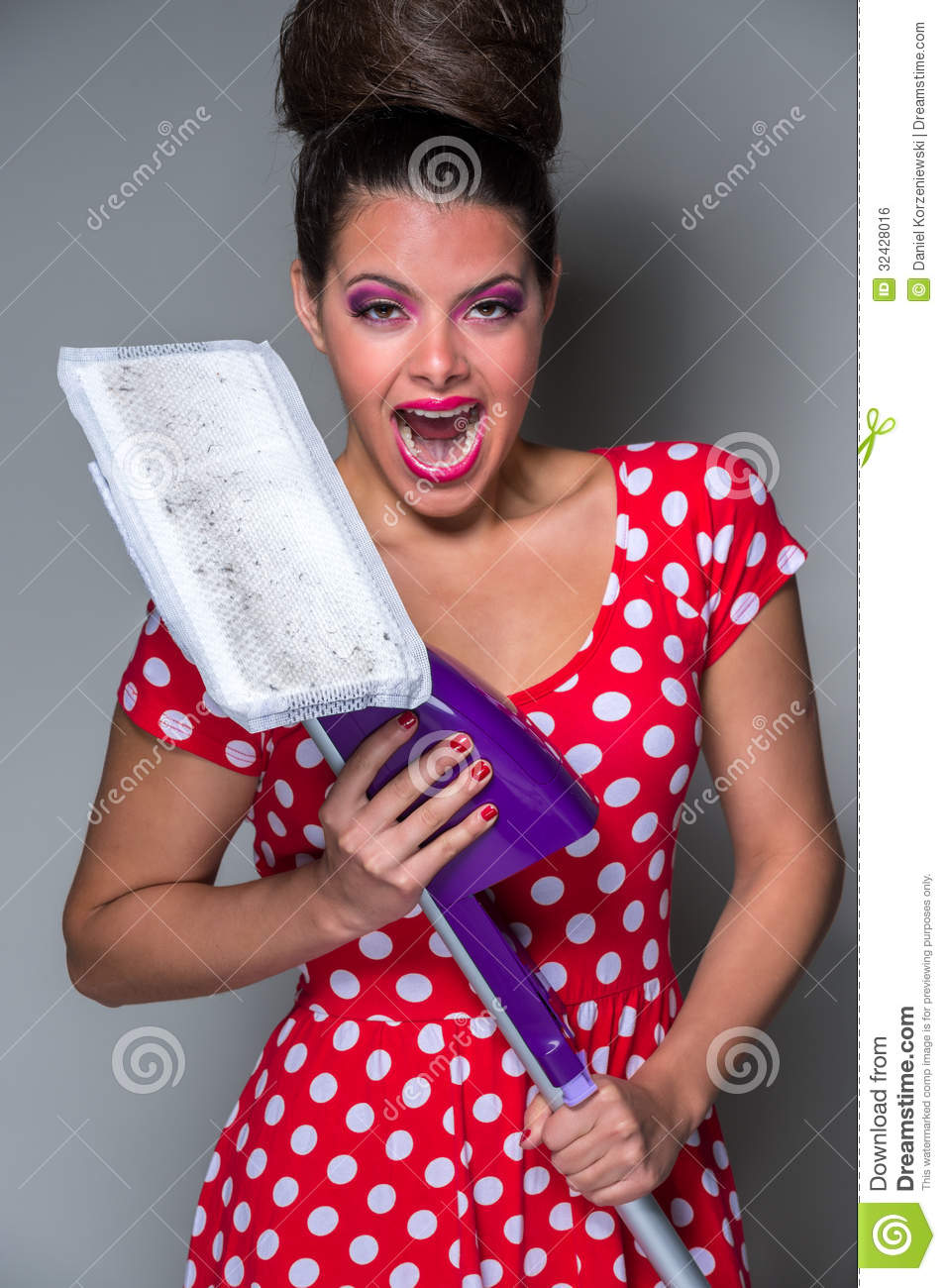 Funny housewife royalty free stock image image 32428016 for Modern housewife