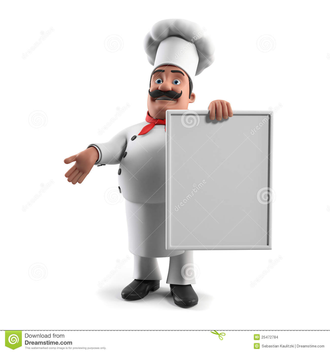 Funny Kitchen Chef Stock Images