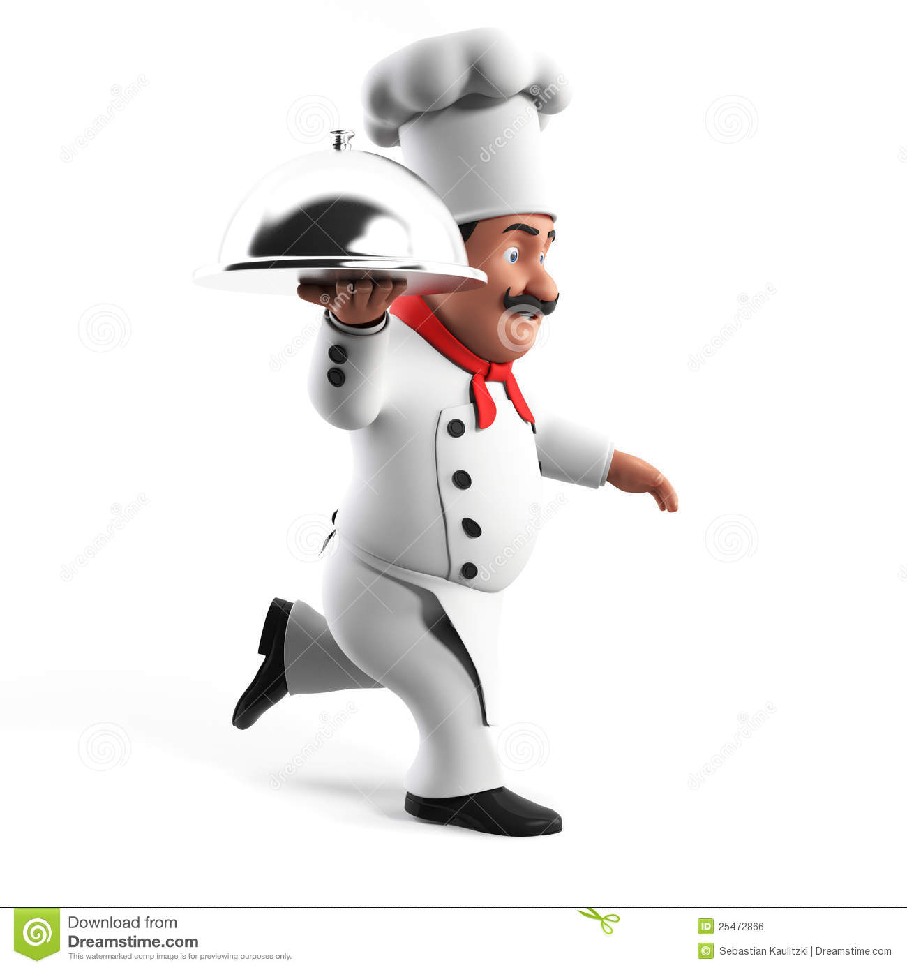 Funny Kitchen Chef Royalty Free Stock Image