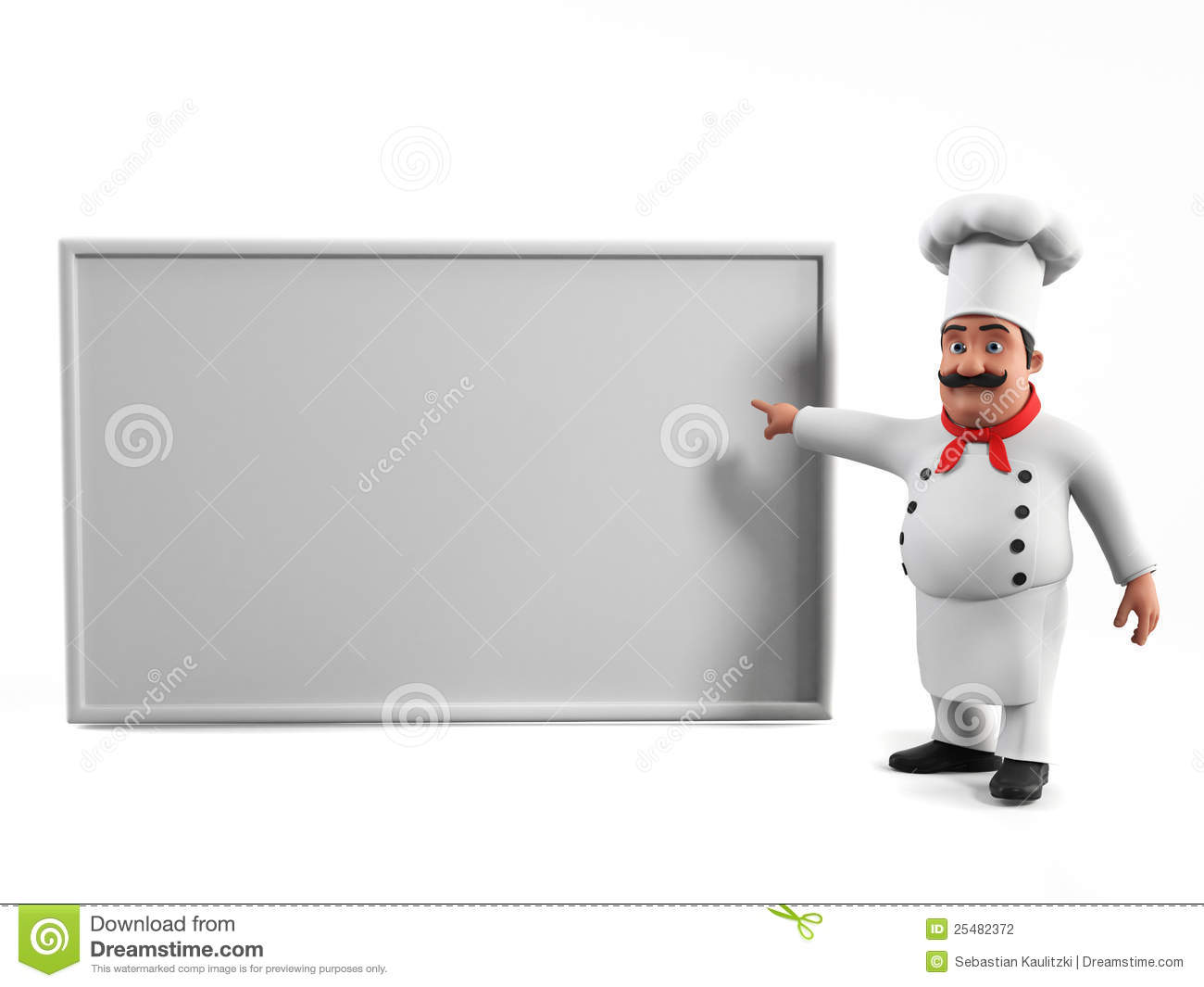 Funny Kitchen Chef Stock Photography - Image: 25482372