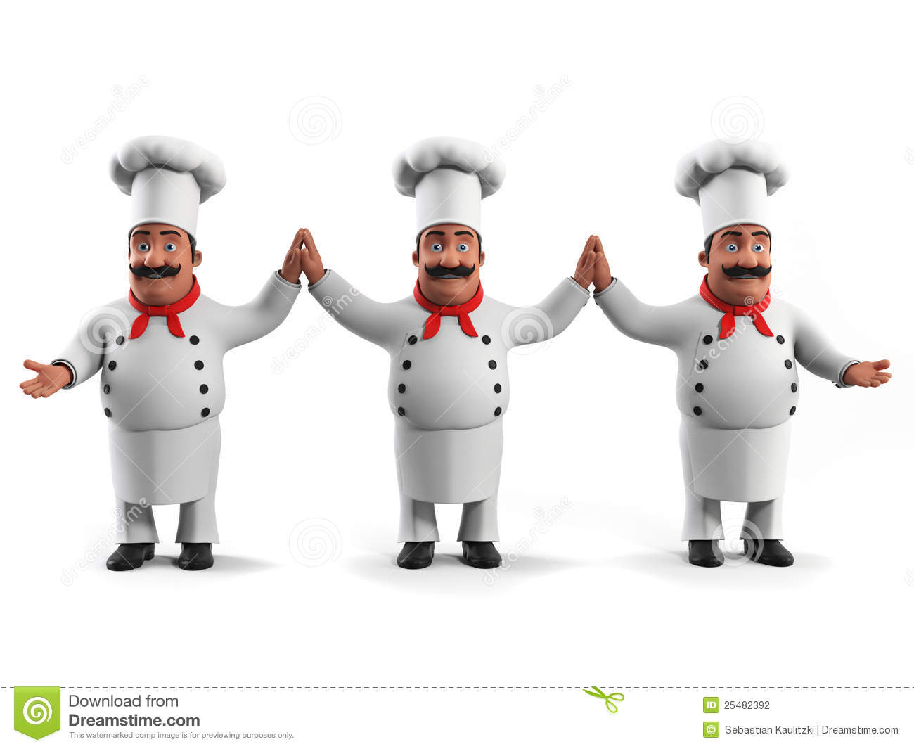 Funny Kitchen Chef Stock Photography Image 25482392