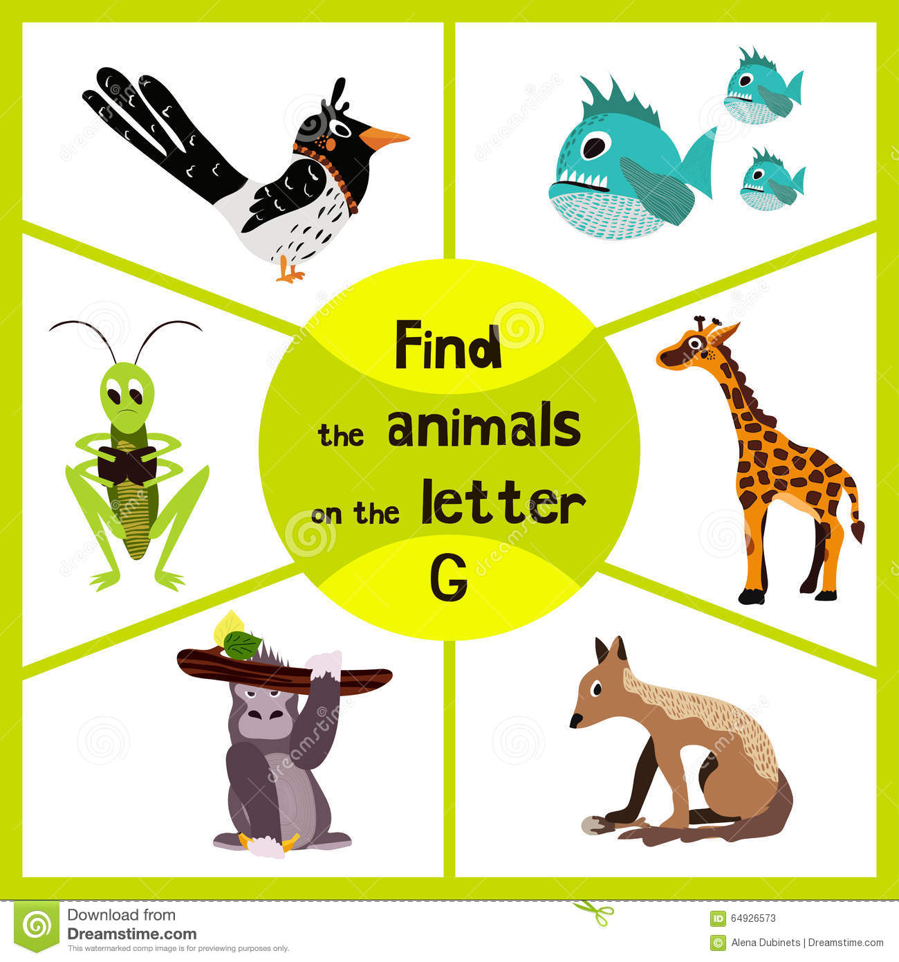 Worksheet Learning The Letter G worksheet learning the letter g mikyu free funny maze game find all 3 cute wild animals with