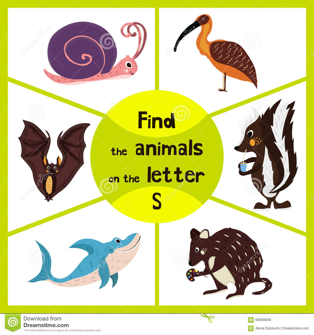 Funny Learning Maze Game, Find All 3 Cute Wild Animals With The