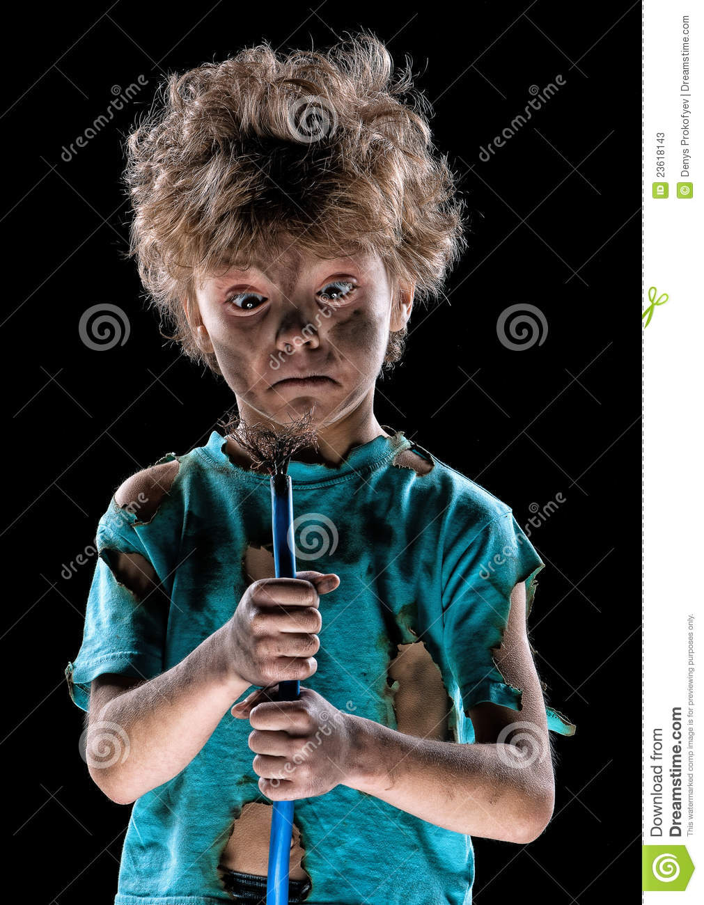 Funny Little Electrician Stock Photos Image 23618143
