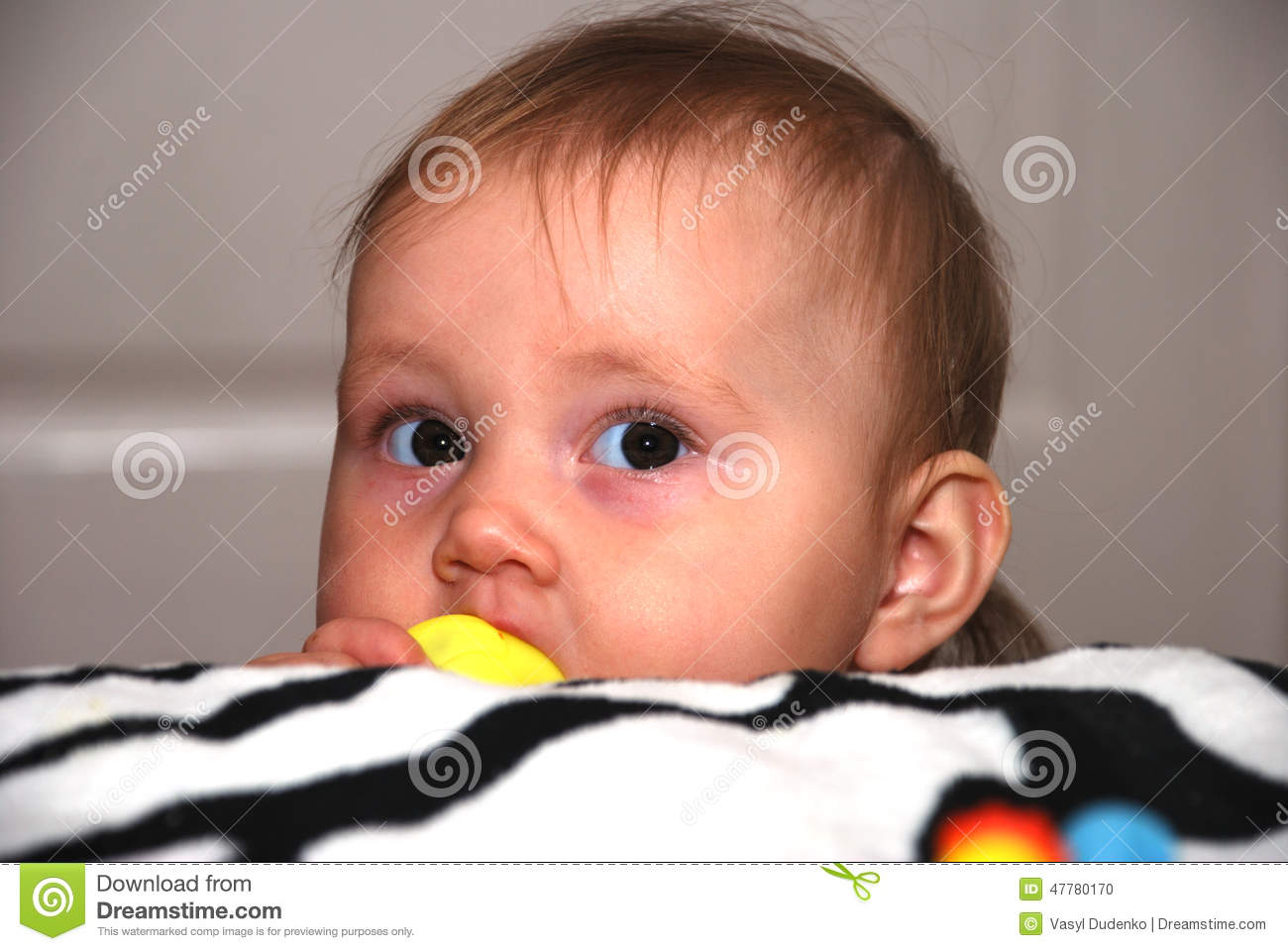 Funny Looking Baby Stock Photo - Image: 47780170